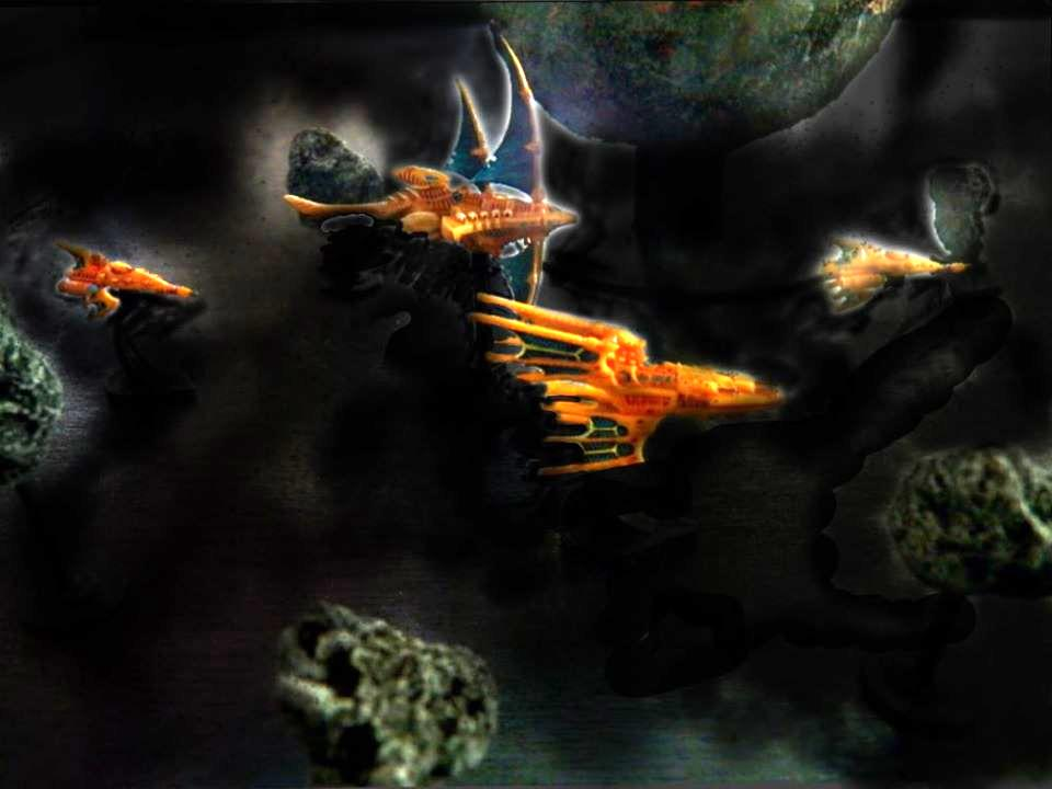 Battlefleet Gothic, Eldar, Space Fleet