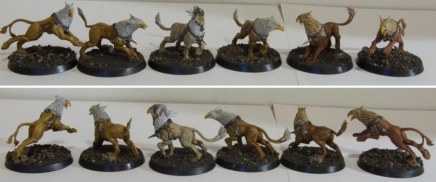 Age Of Sigmar, Eternal, Gryph, Hounds, Stormcast