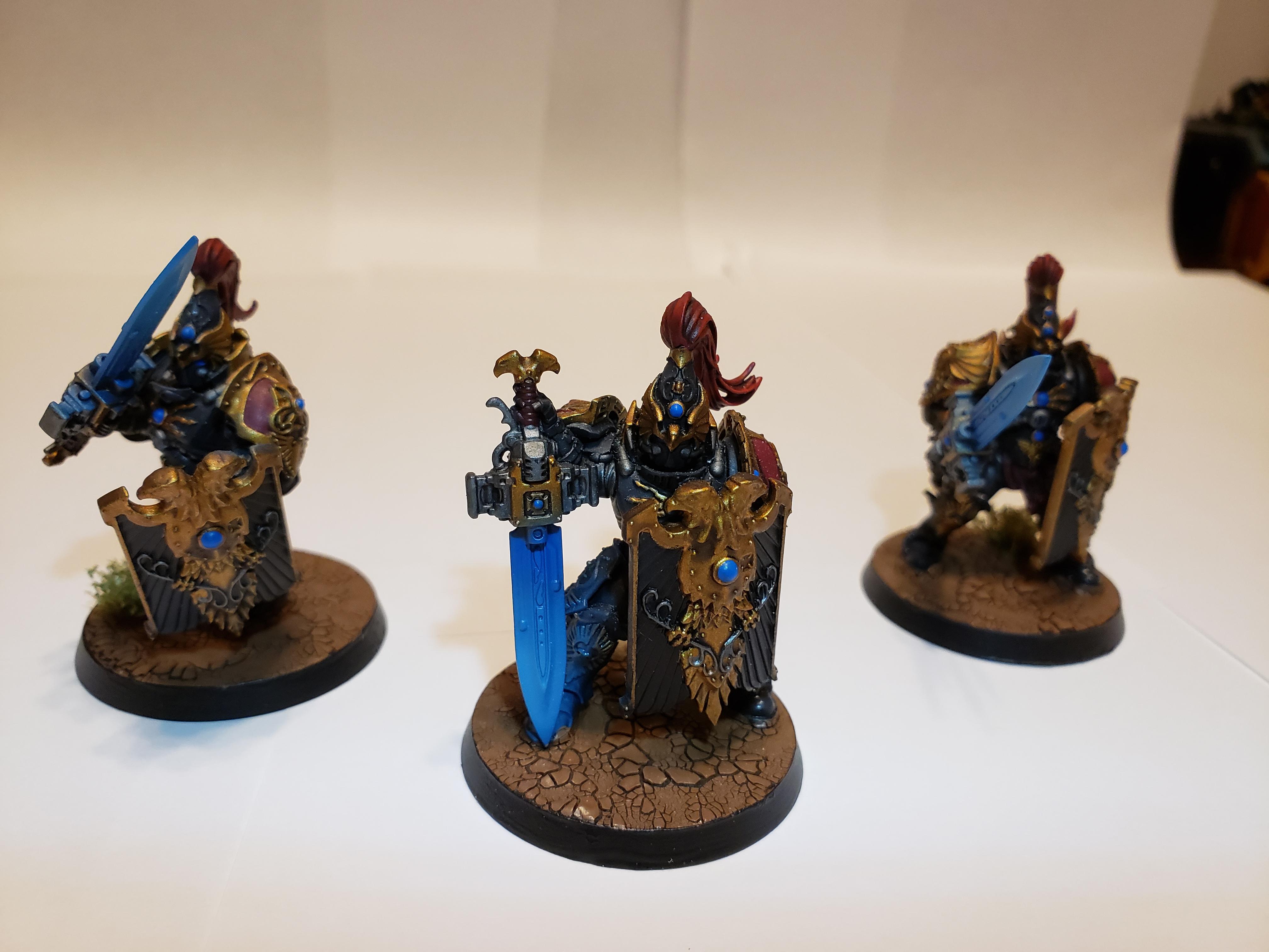 Adeptus Custodes, Custodian Guard, Sentinel Blade, Shadowkeepers, Storm Shield