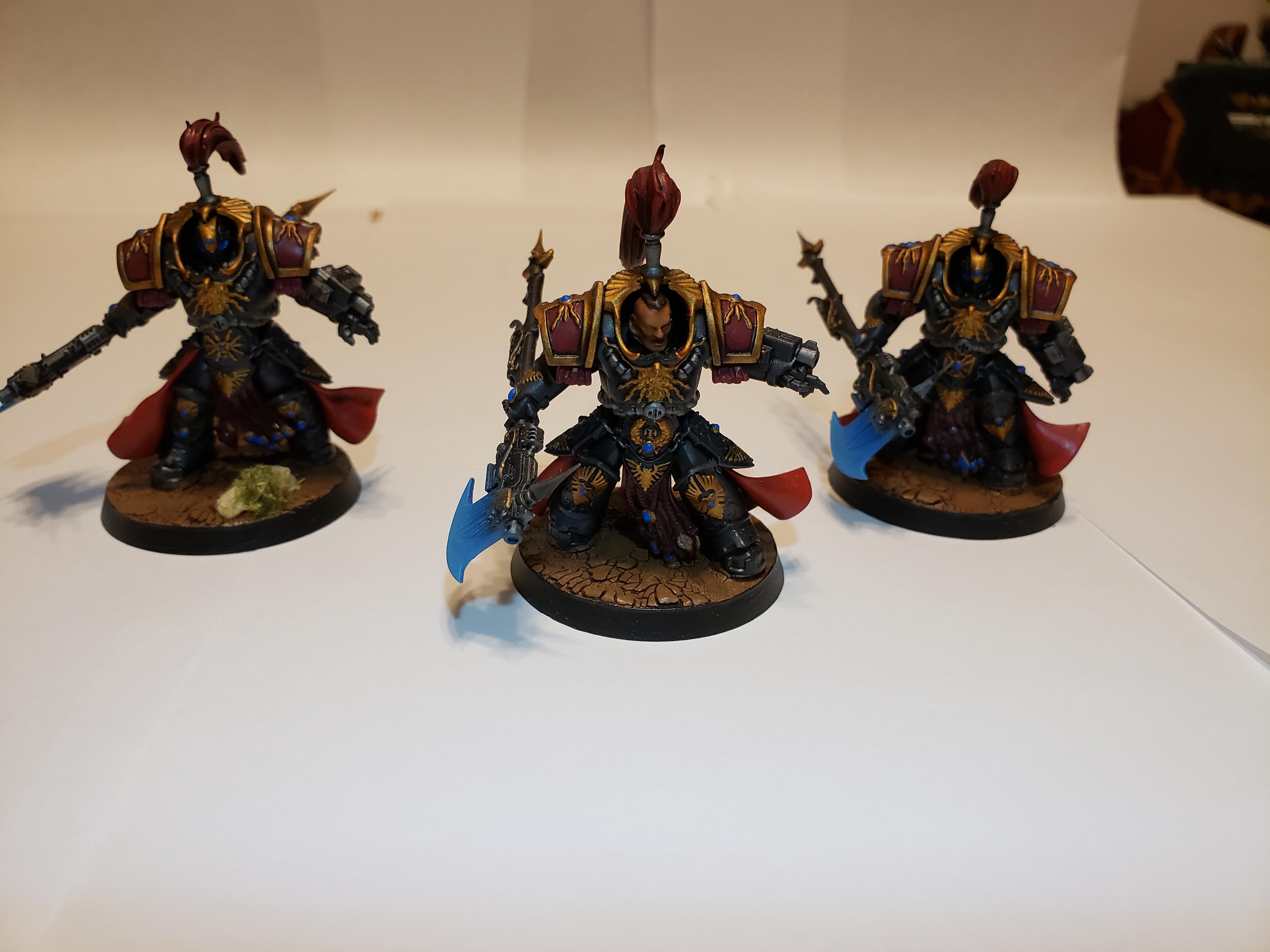Adeptus Custodes, Allarus Custodians, Balistus Grenade Launcher, Castellan Axe, Shadowkeepers