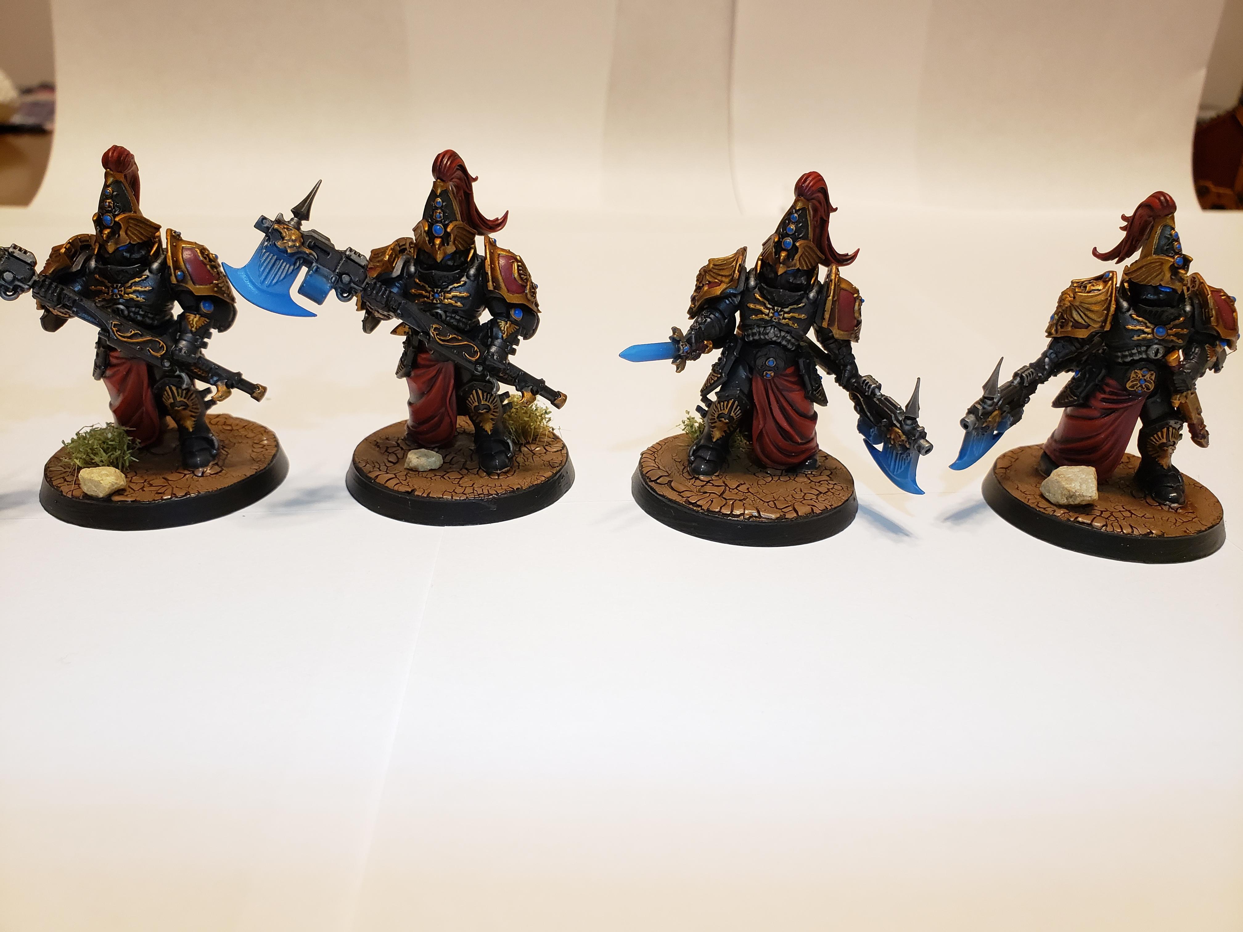 Adeptus Custodes, Castellan Axe, Custodian Warden, Misericordia, Shadowkeepers