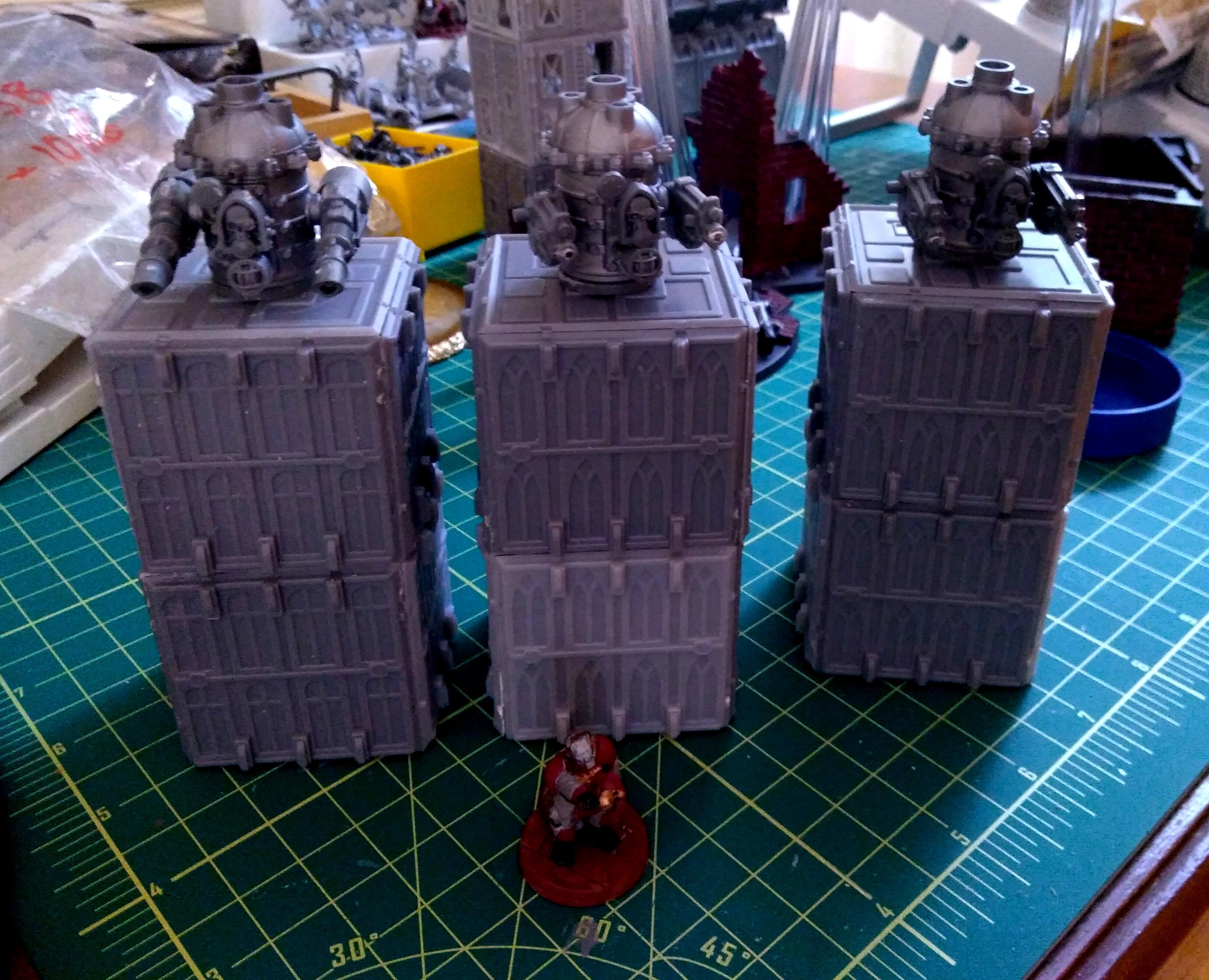 Adeptus Arbites, Guard, Tarantula, Tower