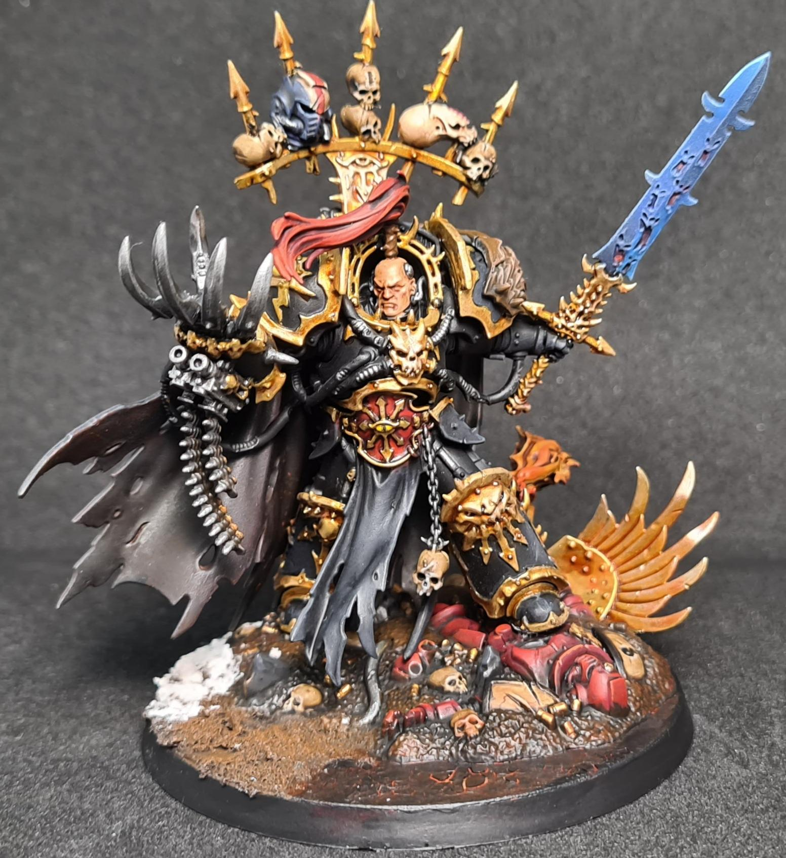 Abaddon, Abaddon The Despoiler, Black Legion, Chaos, Chaos Space Marines, Deadshot, Heretic Astartes, Warmaster