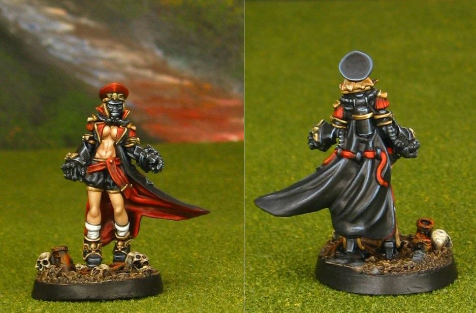 Commissar, Female, Pinup, Wargames Exclusive