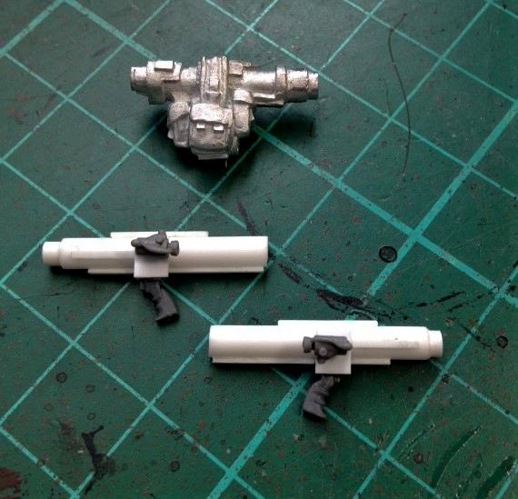 Scratch built launchers!