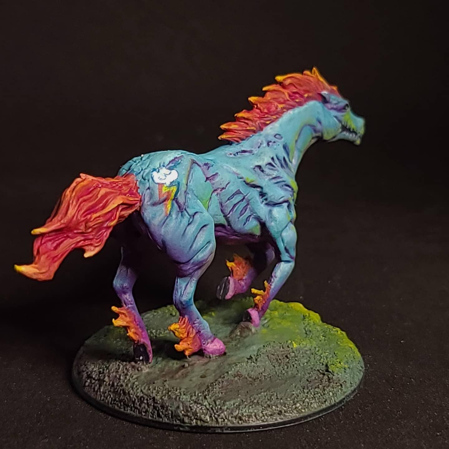 And, Dragon, Dungeons, Dungeons And Dragons, Halloween, My Little Pony, Nightmare, Rainbowdash