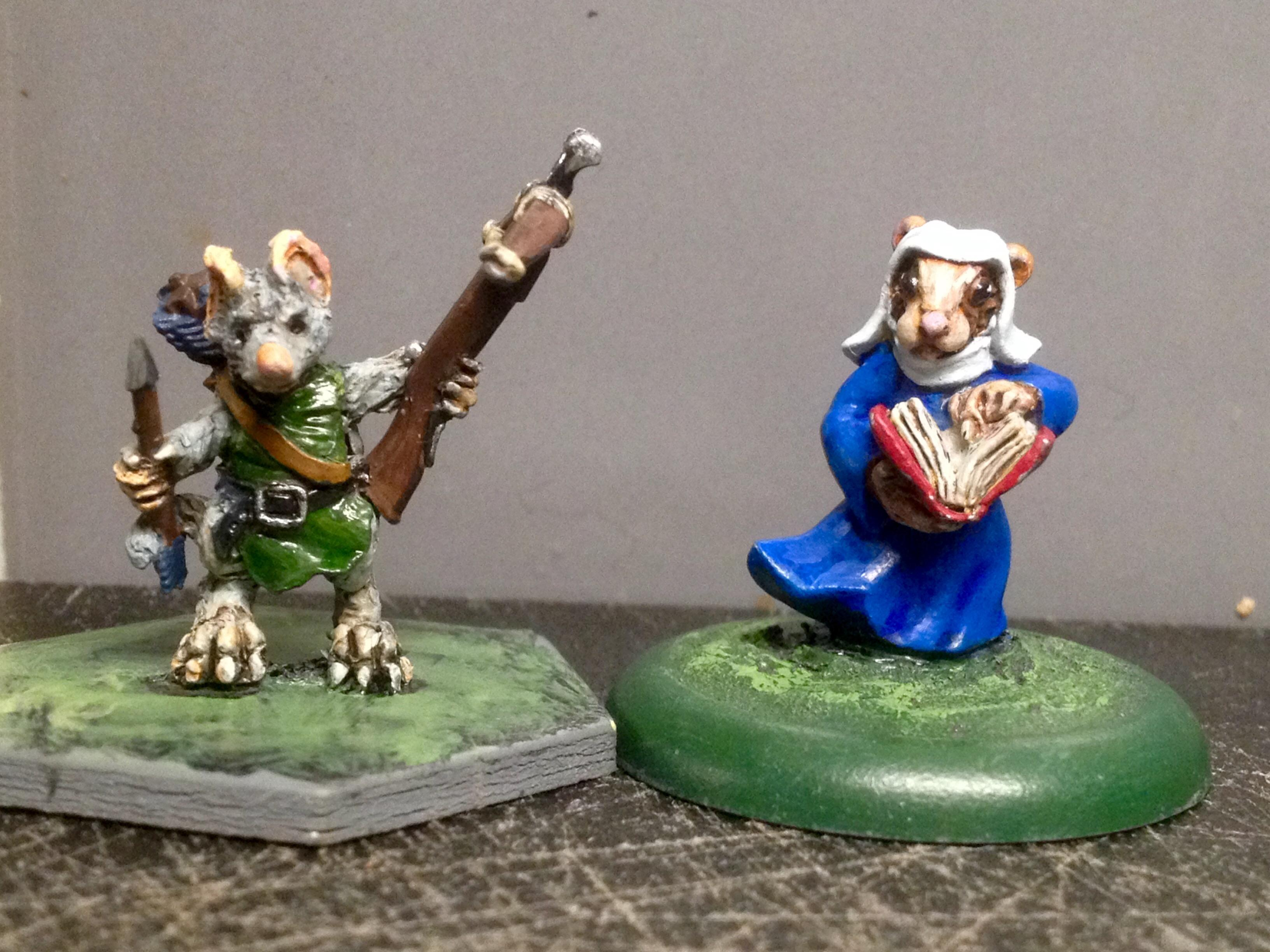 Anthropomorphic Animals, Burrows And Badgers, Oathsworn