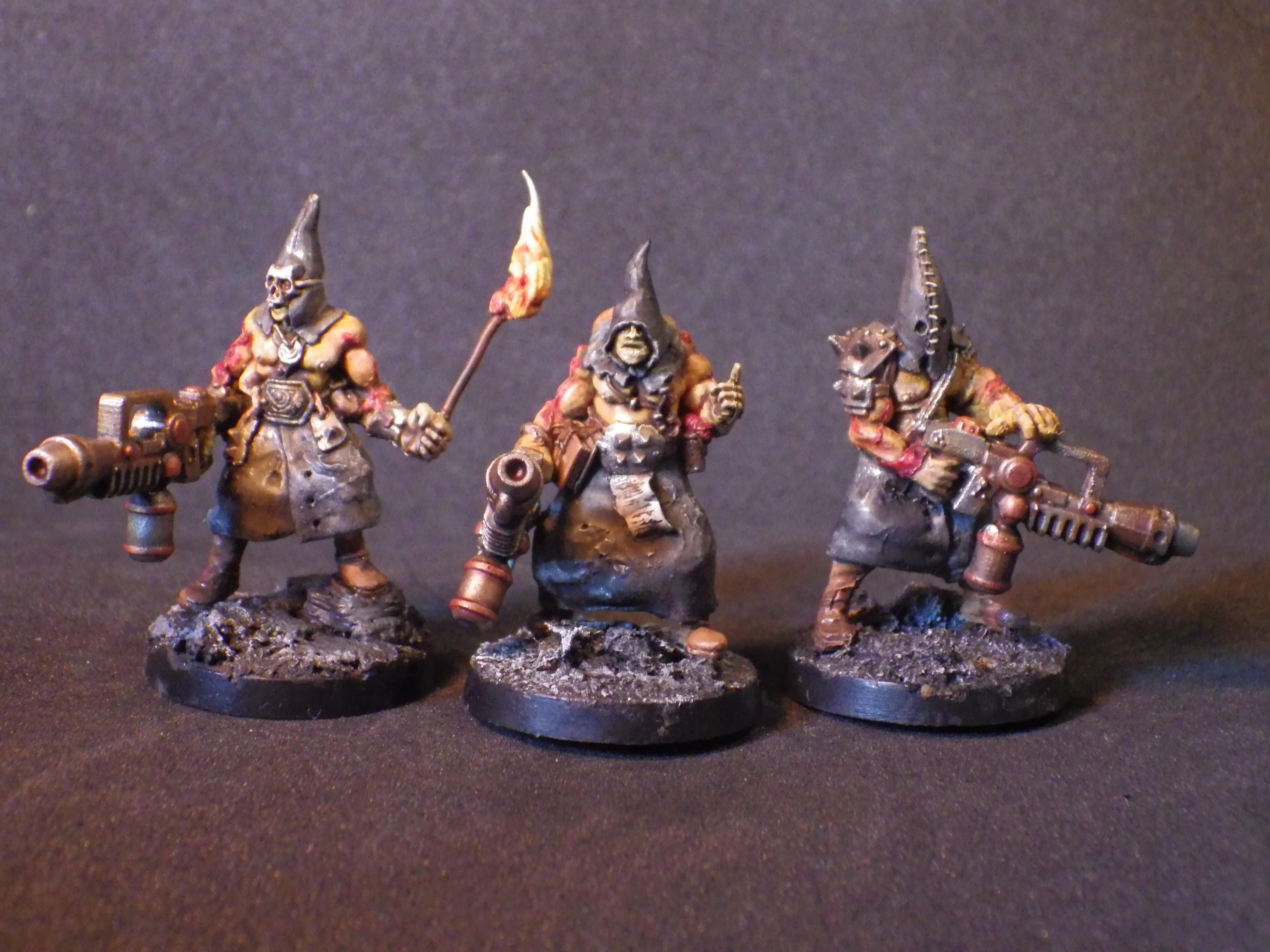 Chaos, Cultist, Flamethrower, Heretic, Mutant