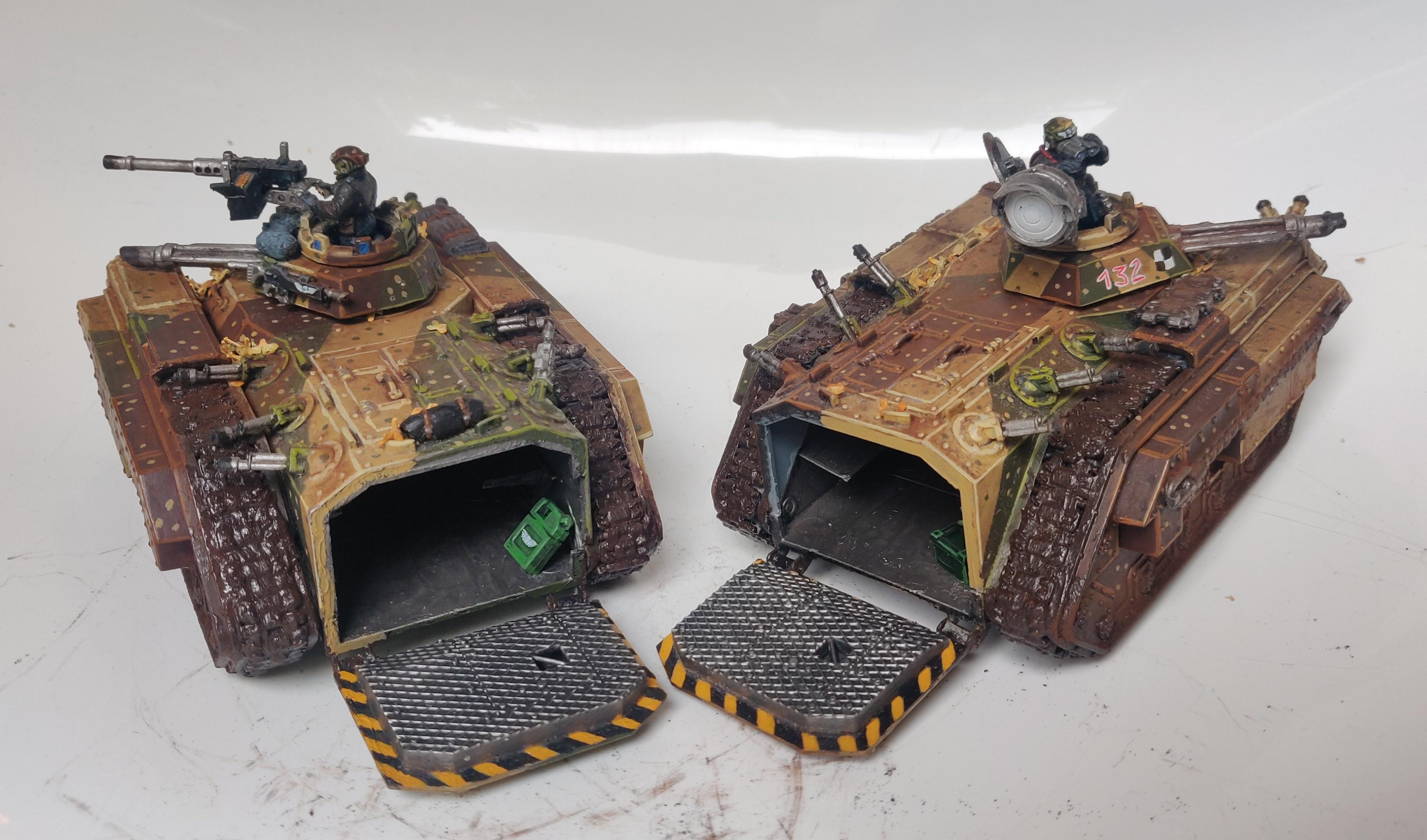 Chimera, Ifv, Imperial Guard, Mechainsed Infantry, Tank, Transport, Weathered