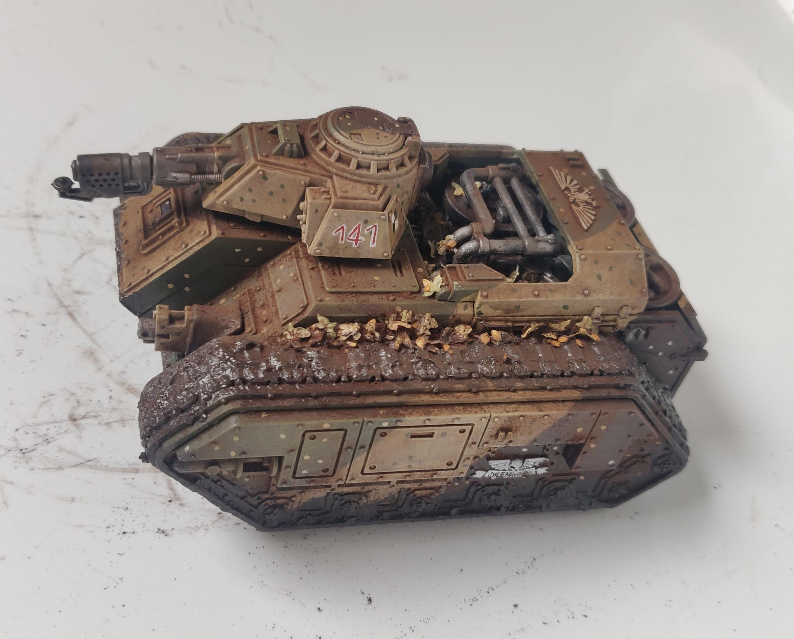 Imperial Guard, Tank, Weathered