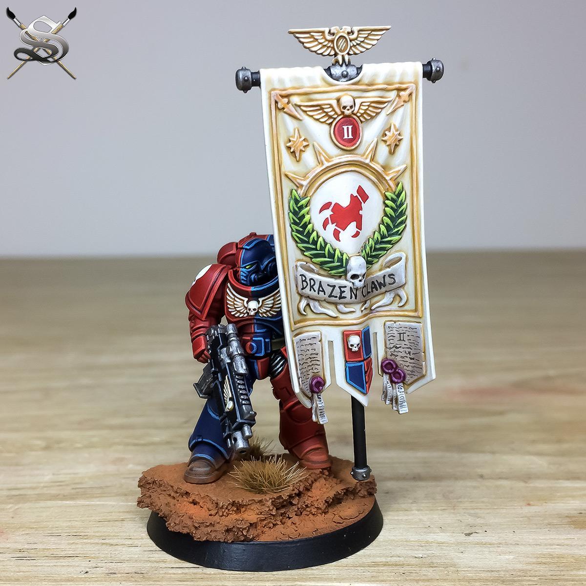 Adeptes Astartes, Banner, Flagbearer, Space Marines