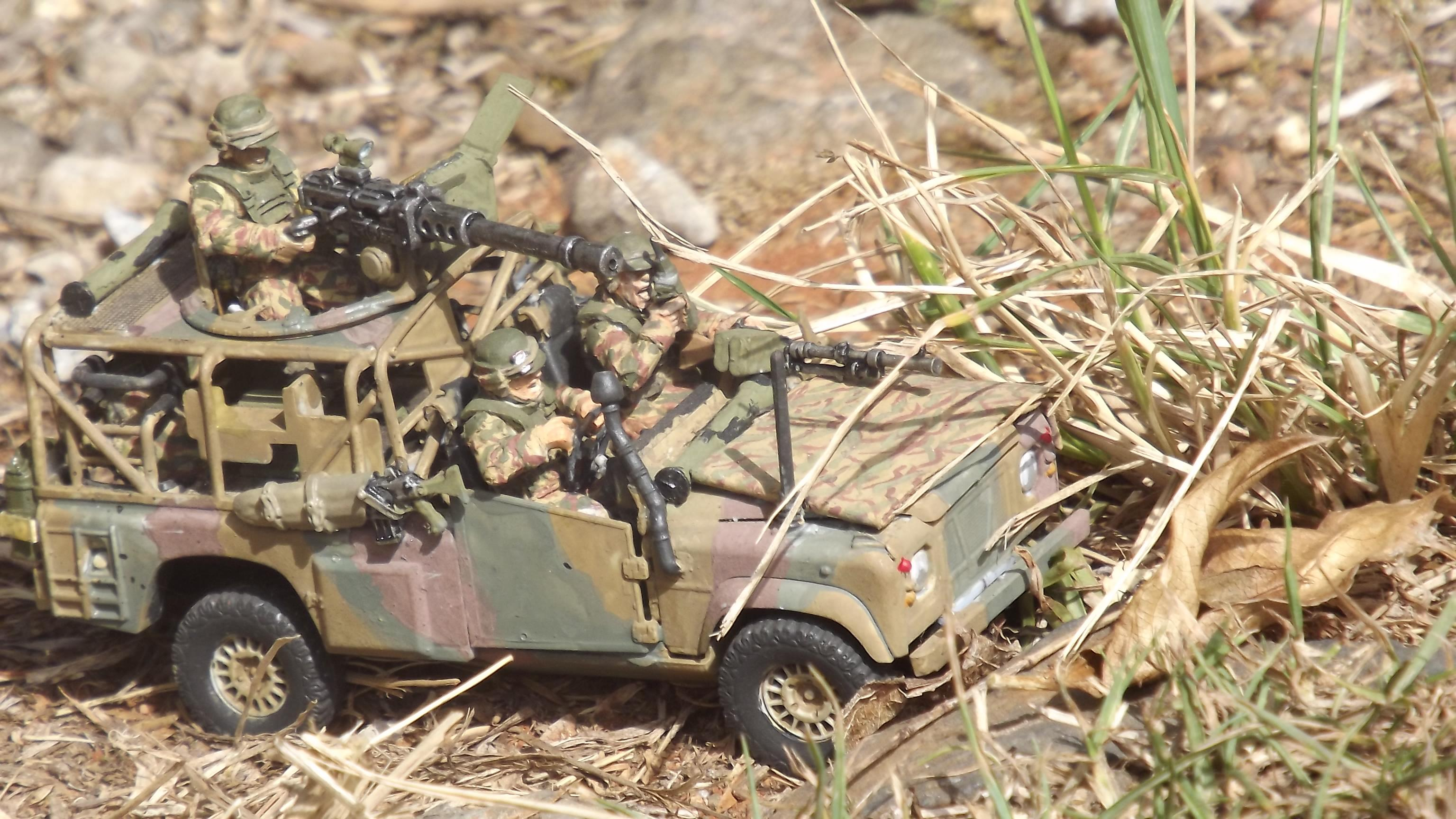 1/48th Scale, Airfix, Landrover Defender, Light Vehicle, Recon, Scout Vehicle, Wmik