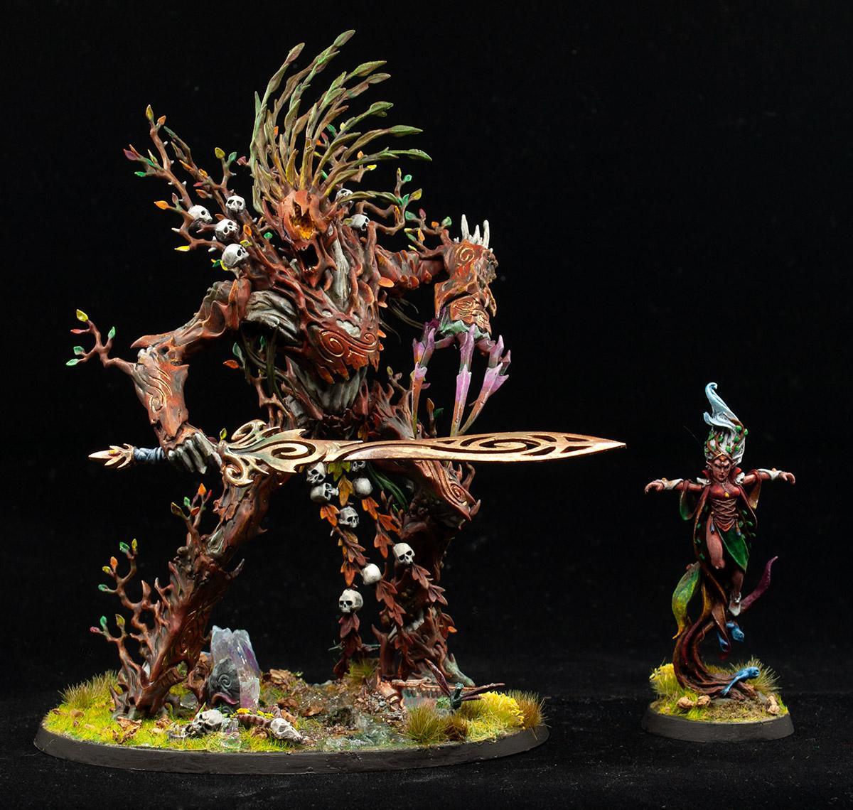 Durthu, Spellsinger, Sylvaneth, Wood Elves