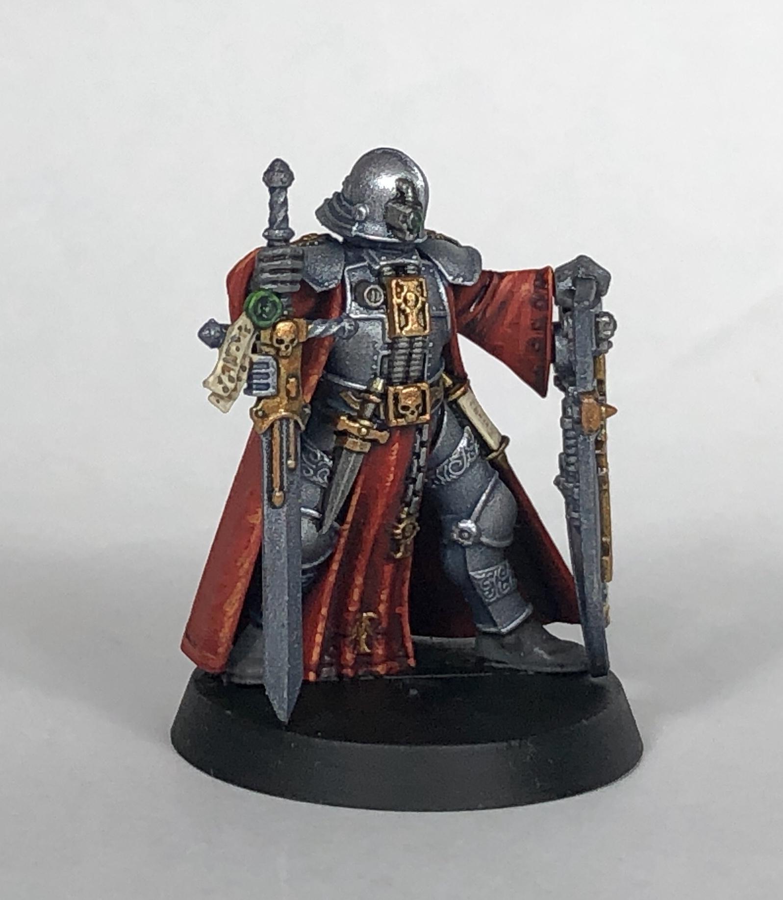 Adventurer, Blackstone Fortress, Crusader, Escalation, Gotfret De Montbard, Warhammer 40,000, Warhammer Quest
