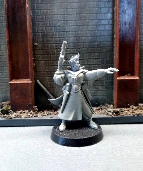 Character, Kitbash, Necromunda, Psyker, Warhammer 40,000, Wyrd