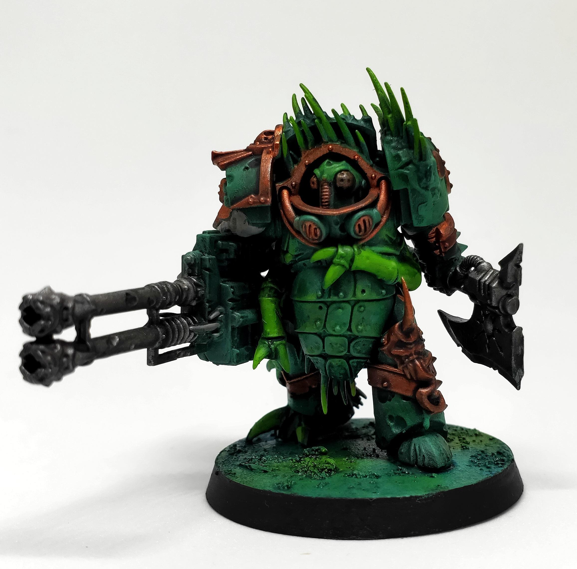 Nurgle, Plague Marines, Underwater