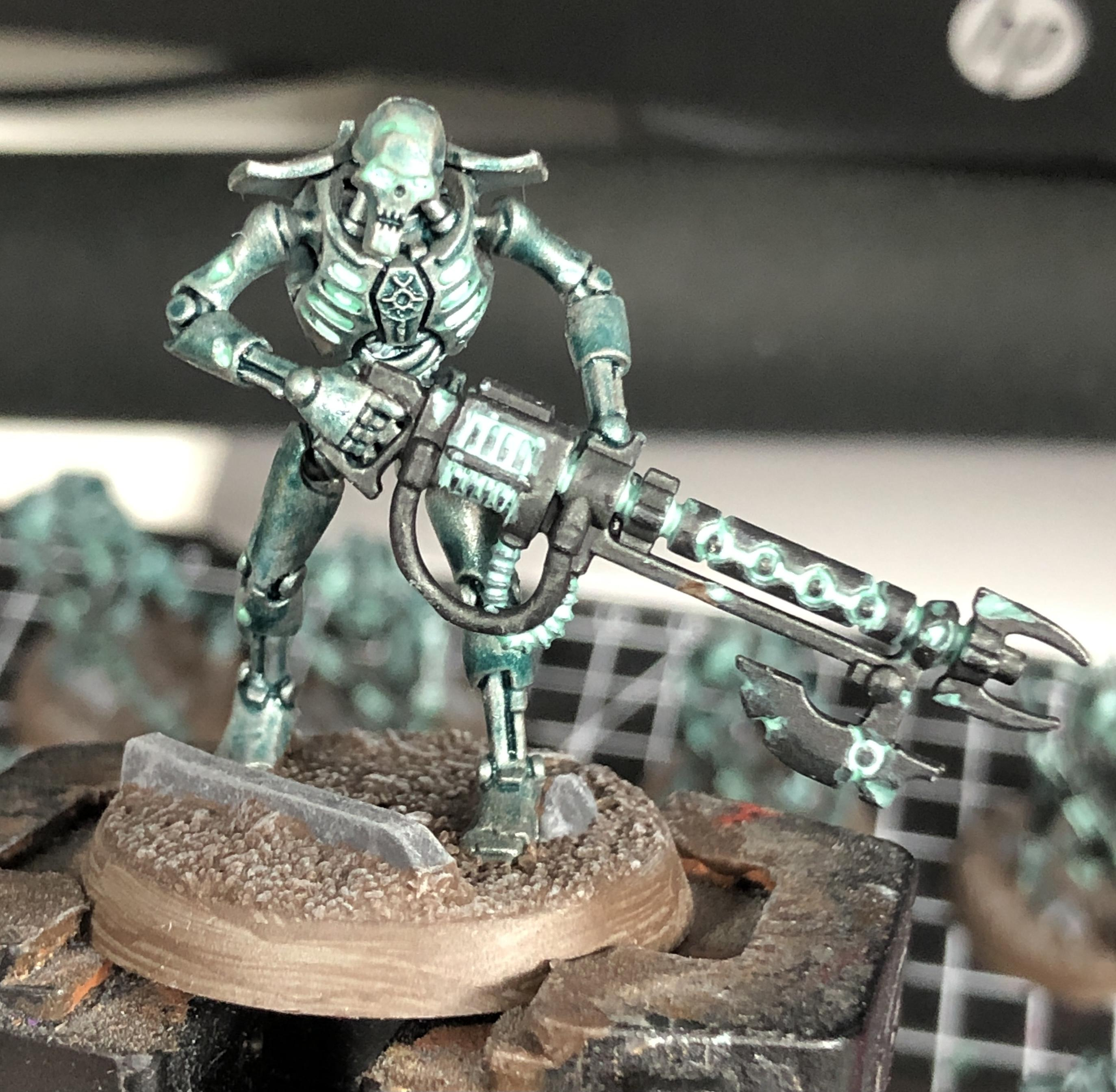 Indomitus, Necron Warriors Wip, Necrons, Warhammer 40,000