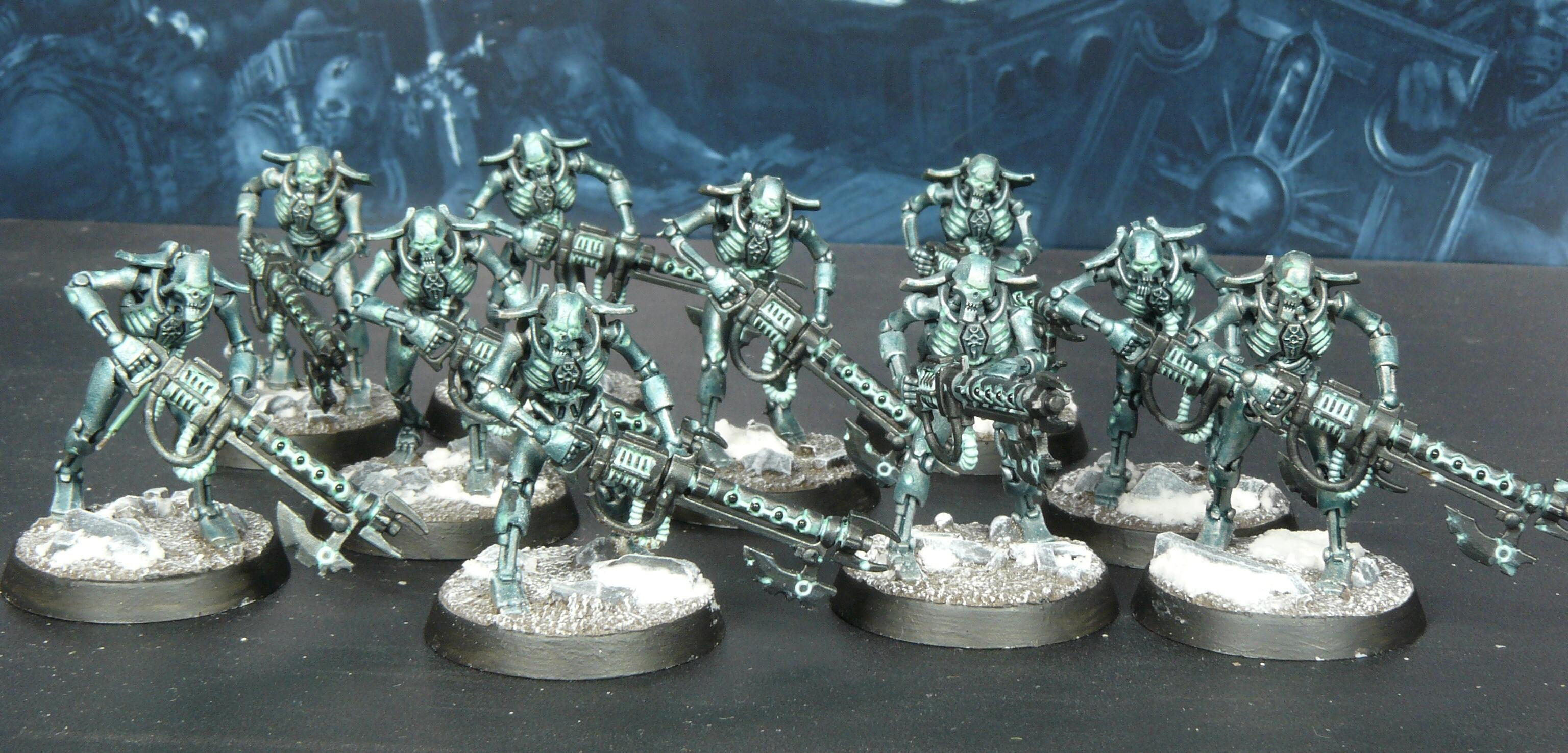 Indomitus, Necron Warriors, Necrons, Warhammer 40,000
