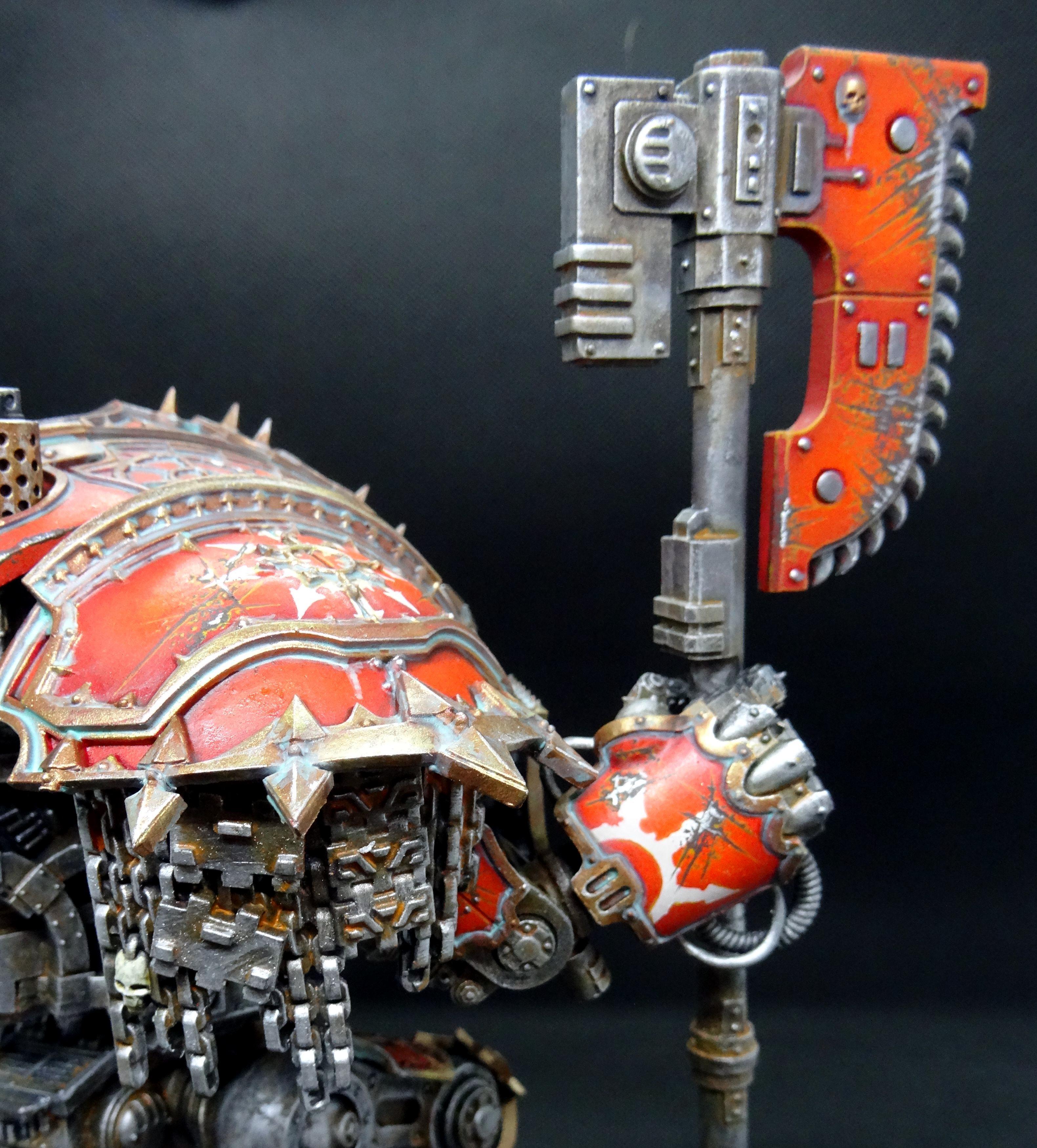 Chaos, Conversion, Knights, Legio Models, Mechanicus, Renegades, Taro Modelmaker
