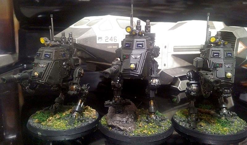 Armored Sentinel, Astra Militarum, Fast Attack, Fedrid, Imperial Guard, Lascannon, Sentinel