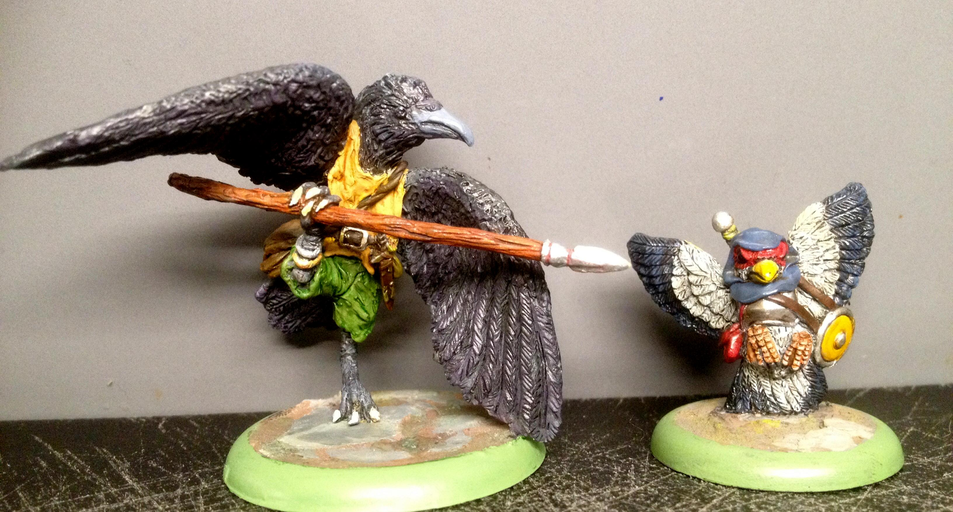 Anthropomorphic Animals, Burrows And Badgers, Dave The Crow, Oathsworn