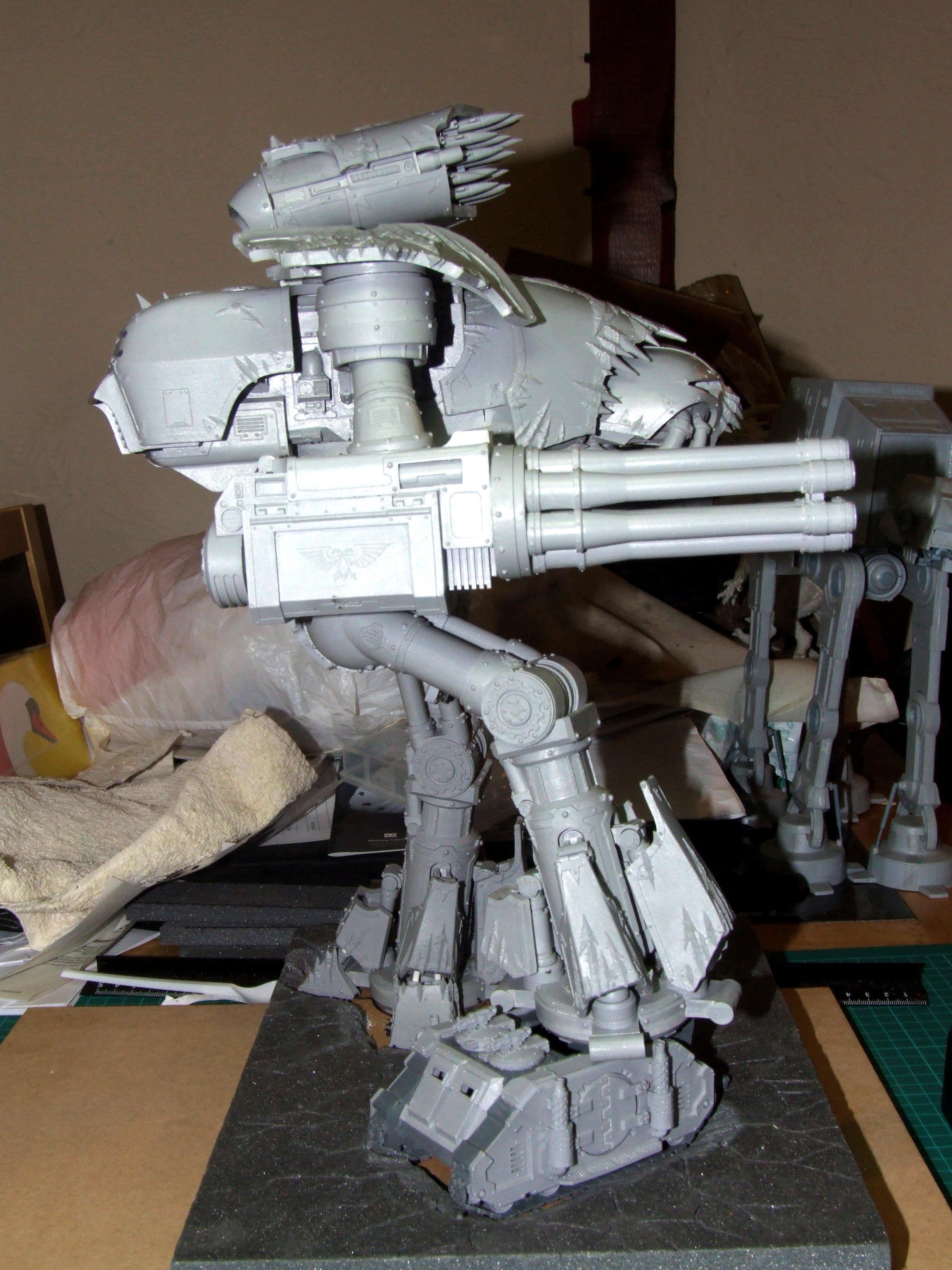 Chaos, Dynamic, Reaver, Titan, Work In Progress
