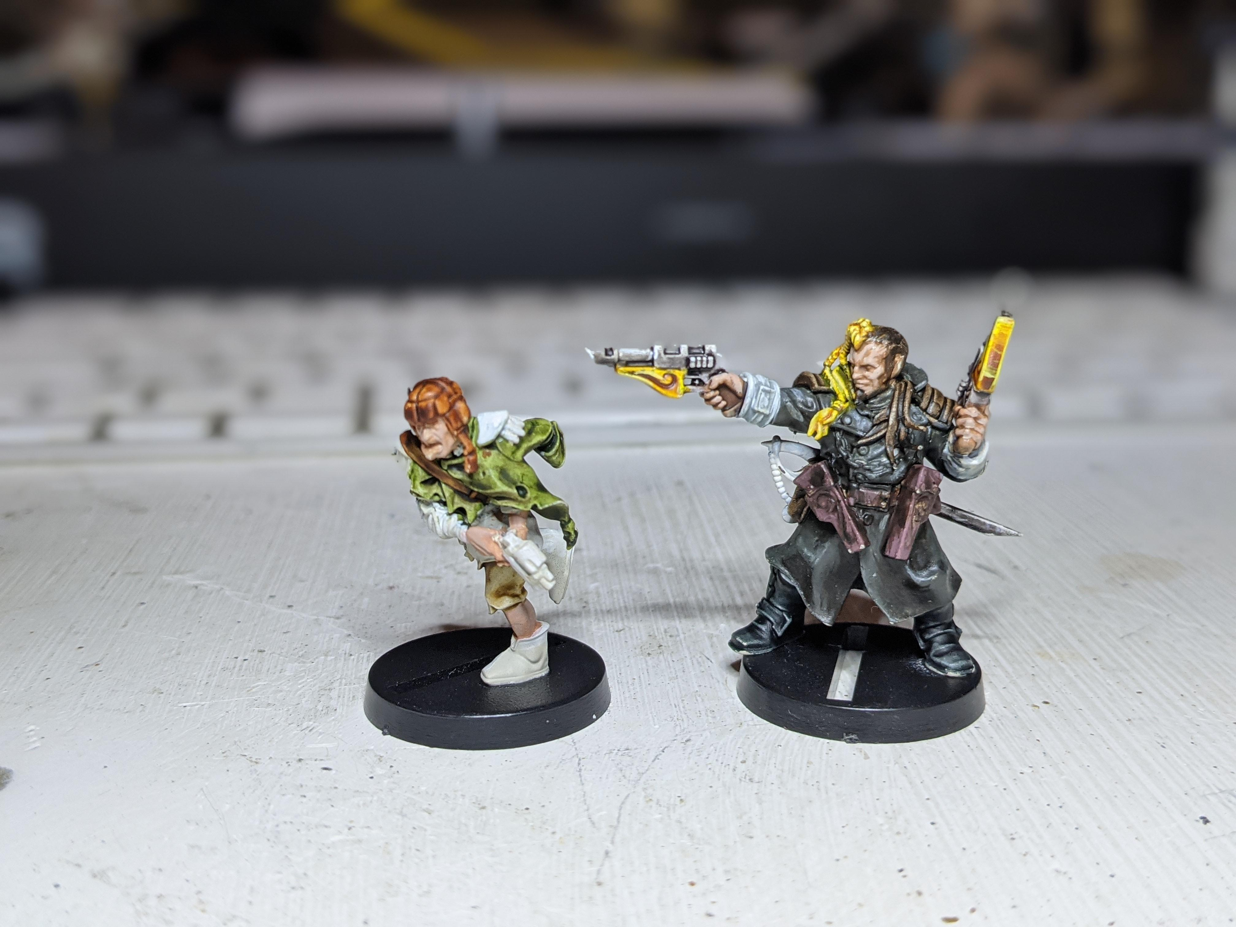 WIP Kal and Scabbs