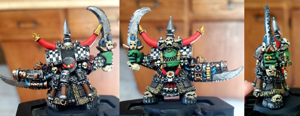 Ghazghkull Thraka, Goffs, Orks, Thraka, Warboss, Warhammer 40,000, Warlord