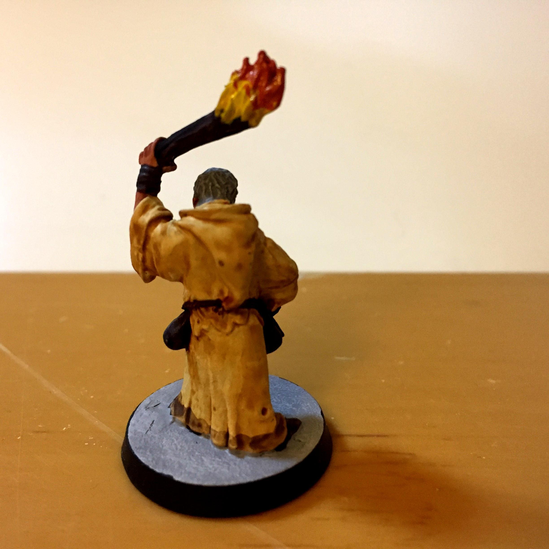 Mob, Monk, Mordheim, Torch, Warhammer Fantasy