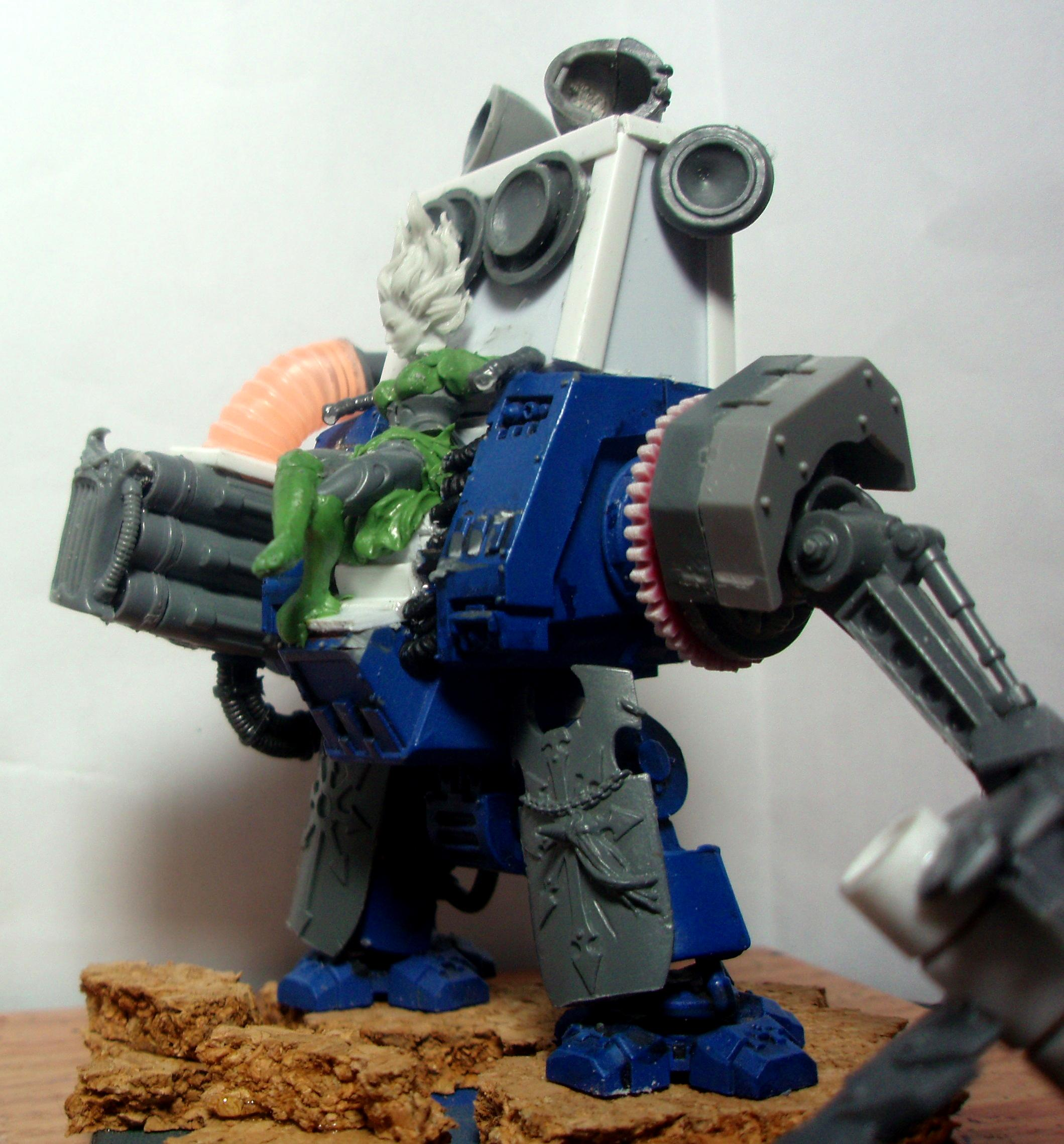 Chaos Space Marines, Conversion, Daemonettes, Dreadnought, Emperor's Children, Noise Marines
