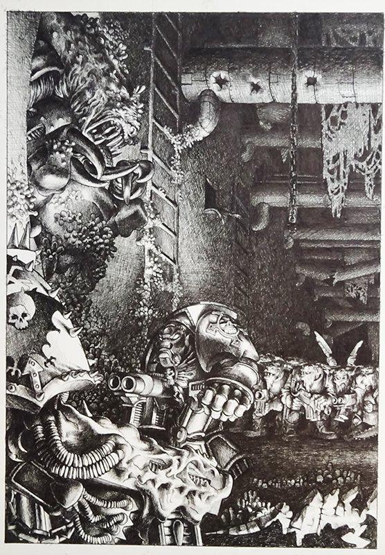 Artwork, Oldhammer, Paul Bonner