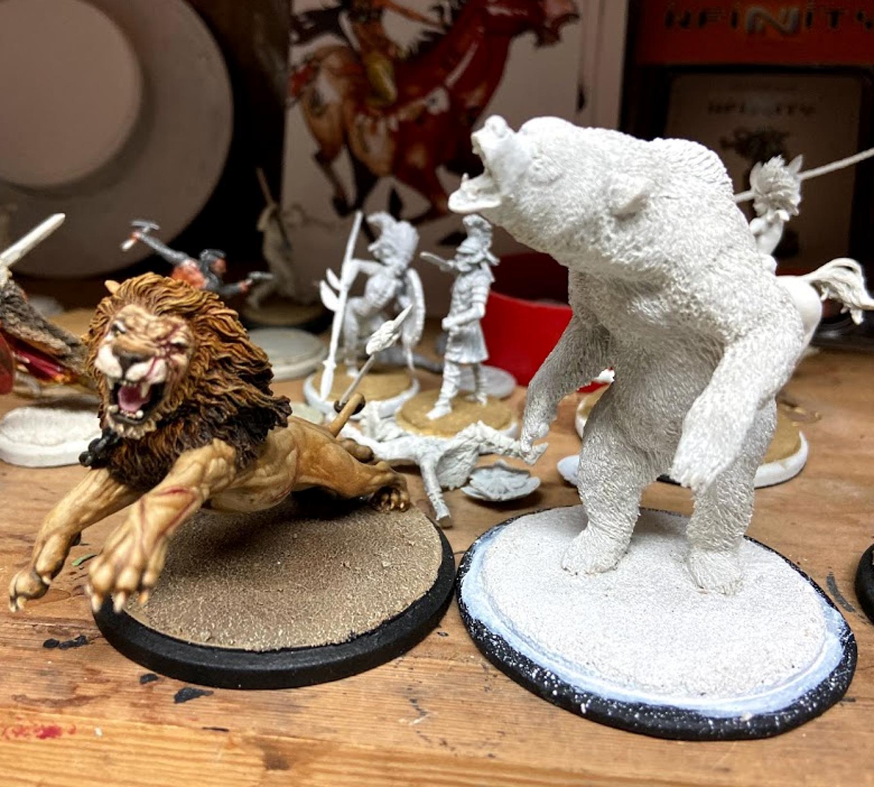 Arena Rex, Bear, Crassus, Red Republic Games