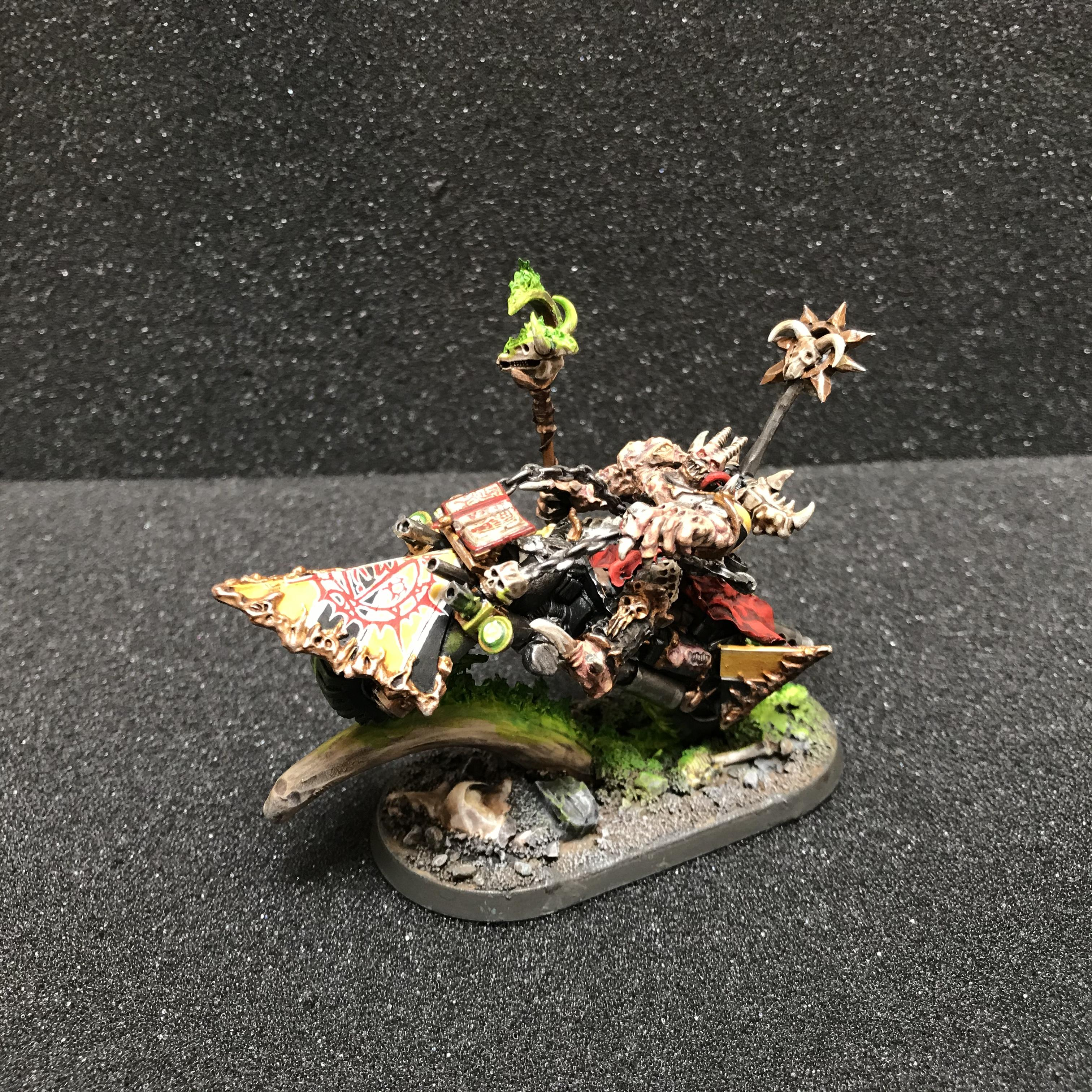 Bike, Conversion, Greenstuff, Iron Warriors, Kitbashed, Legend, Sorcerer