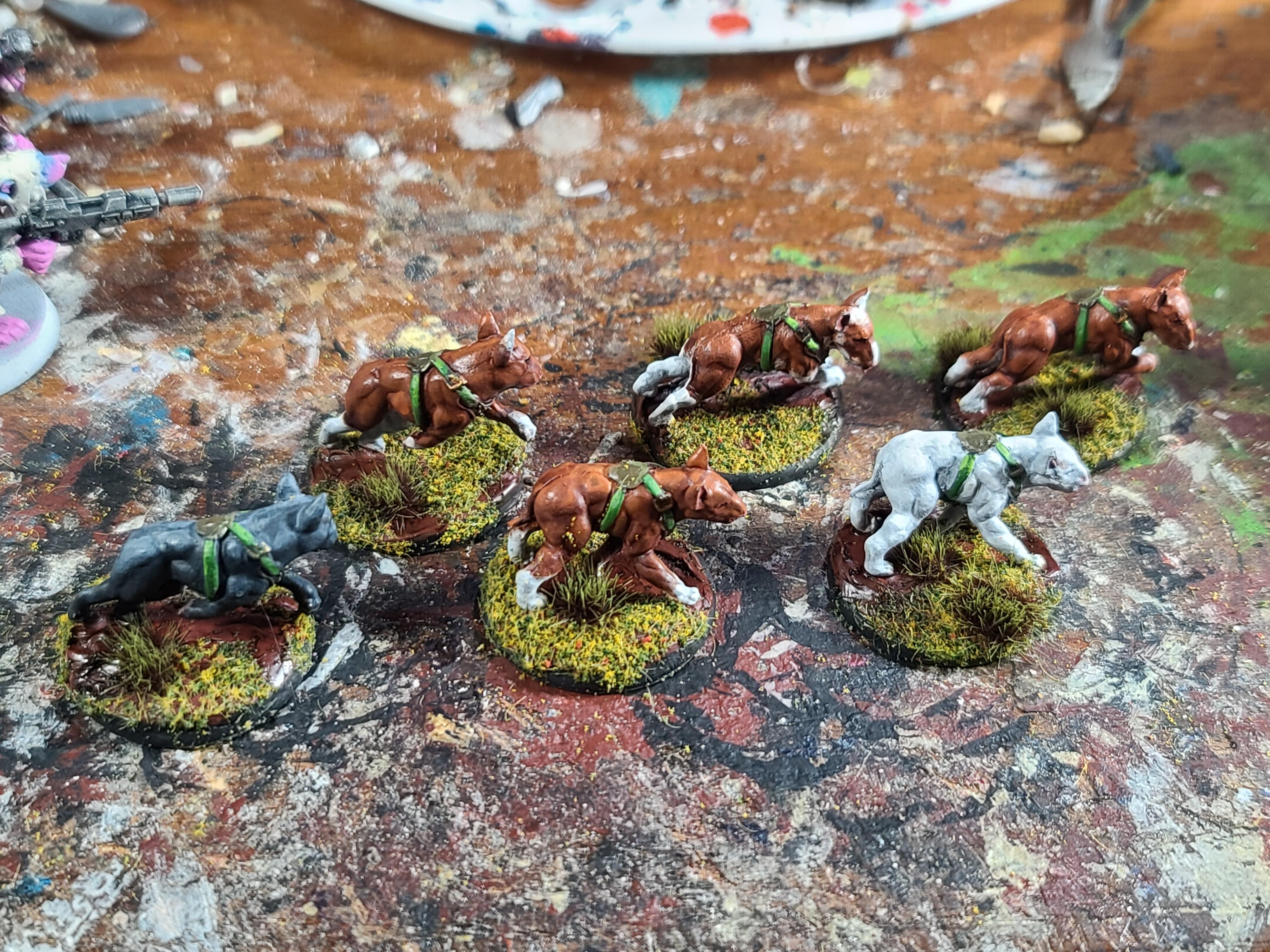 Bolt Action, Cgm, Dogs, Konflict '47, Pupper, War Dogs, Warlord Games