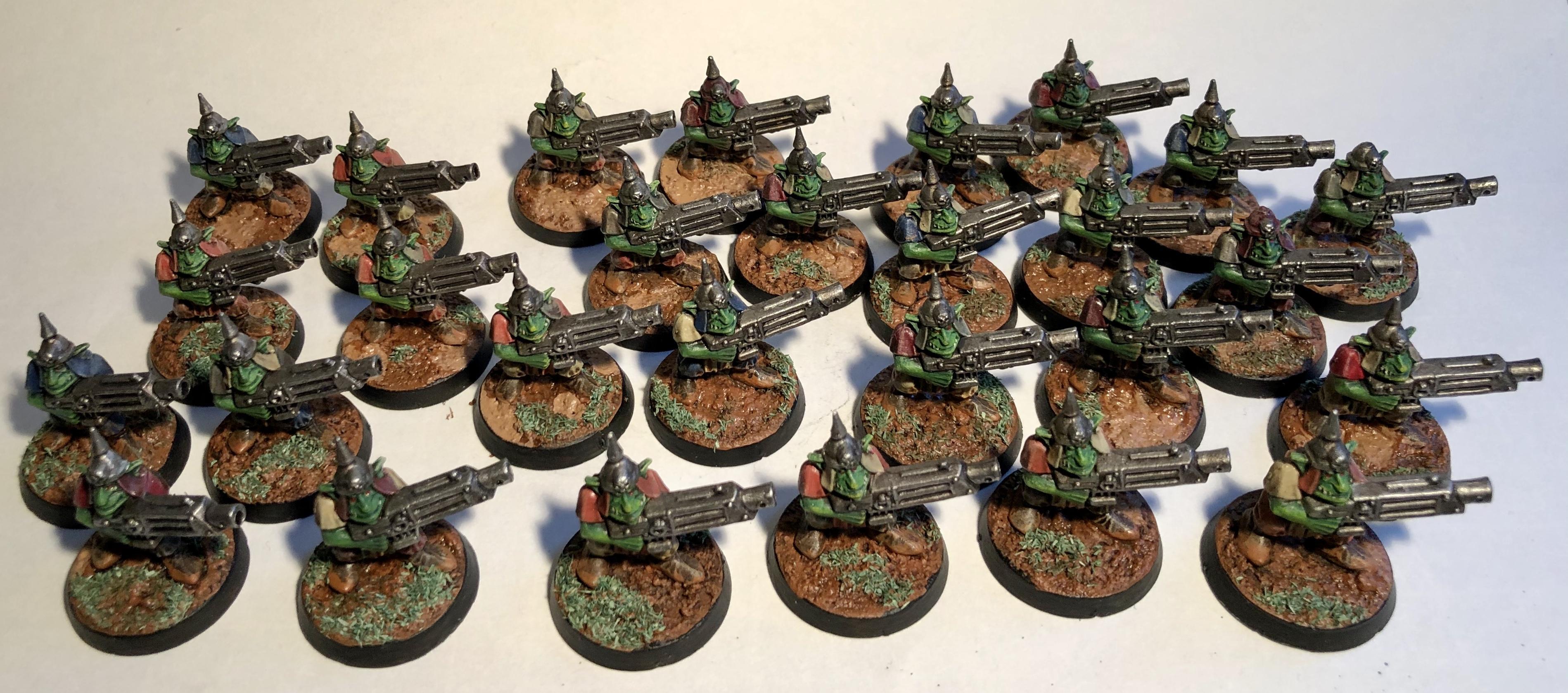 Drying Mud, Gretchin, Grots, Orks, Warhammer 40,000