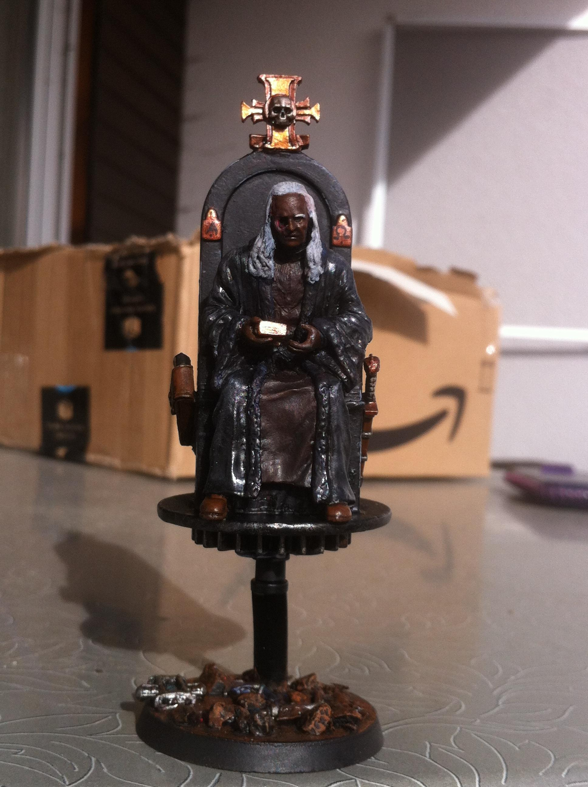 54mm, Chair, Flying, Hover, Inquisitor, Karamasov, Karamasow, Old, Scratch