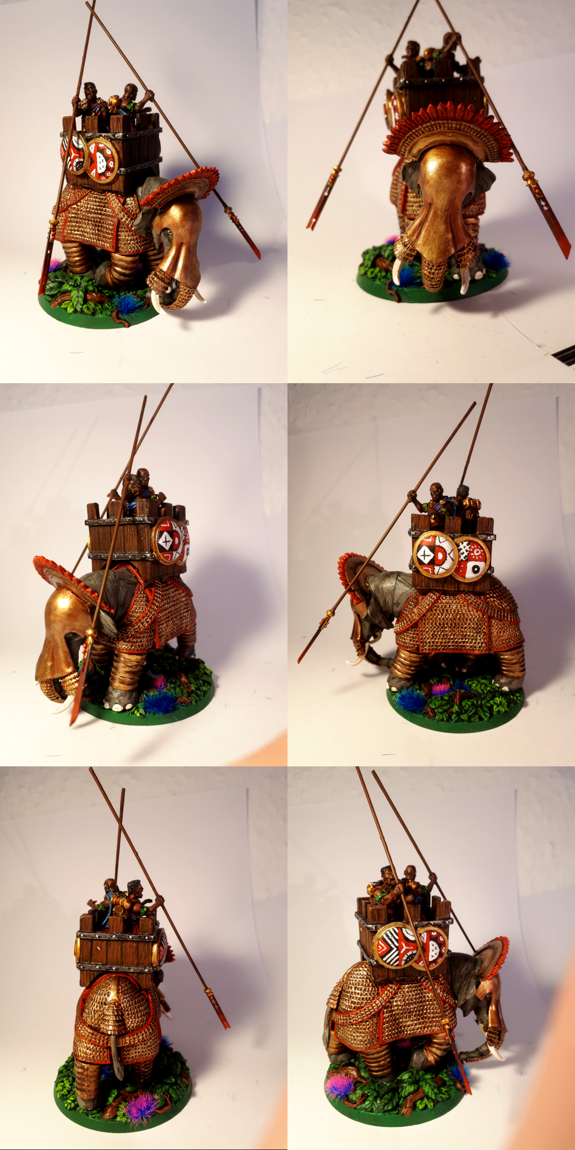 Imperial Guard, Sentinel, Sentinel Power Lifter, Victoria Miniatures, War Elephant, Warlord Games