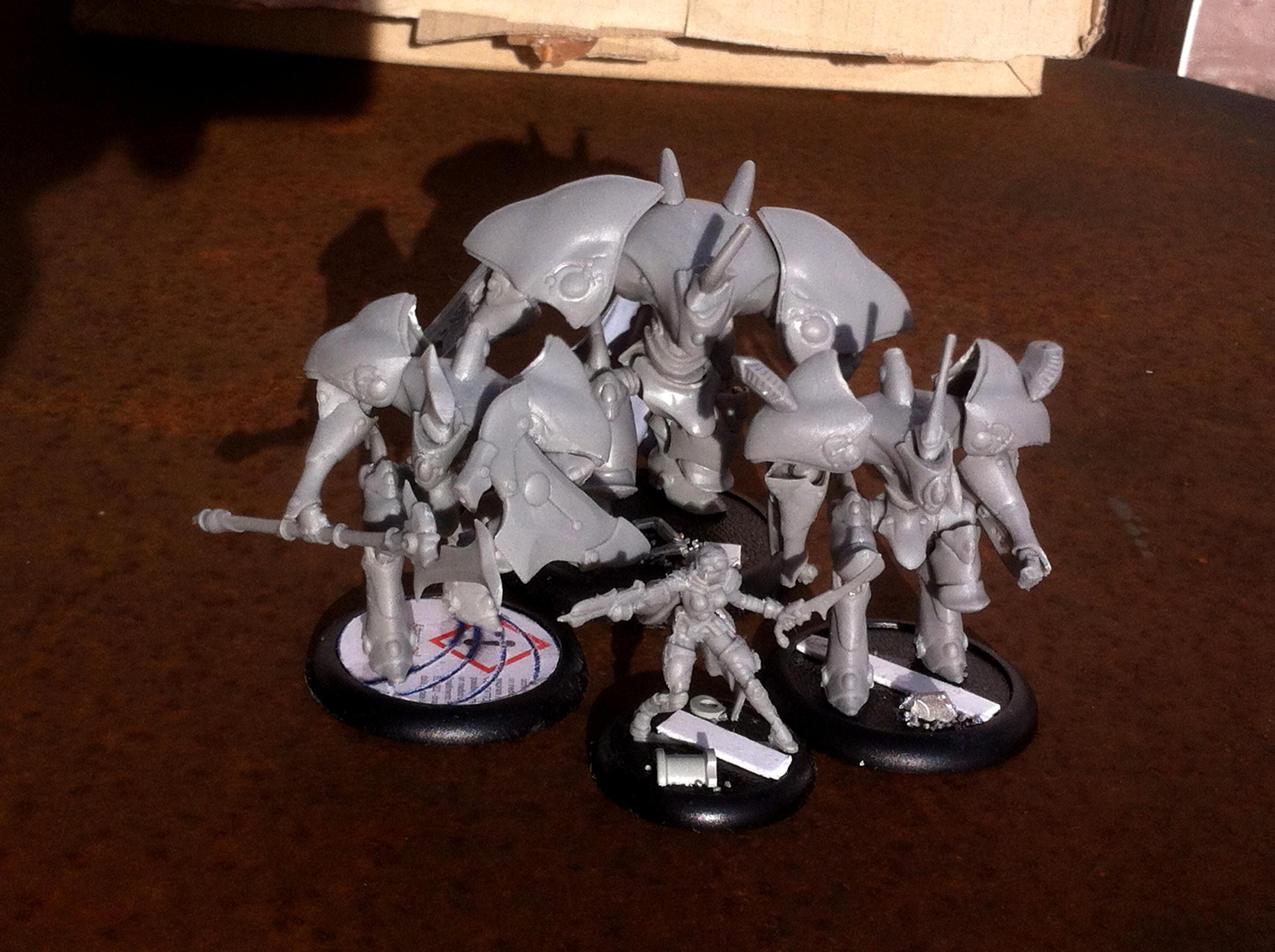 Bragon, Elves, Everblight, Legion, Nyss, Retribution, Scyrah, Shredder, Warbeast, Warmachine