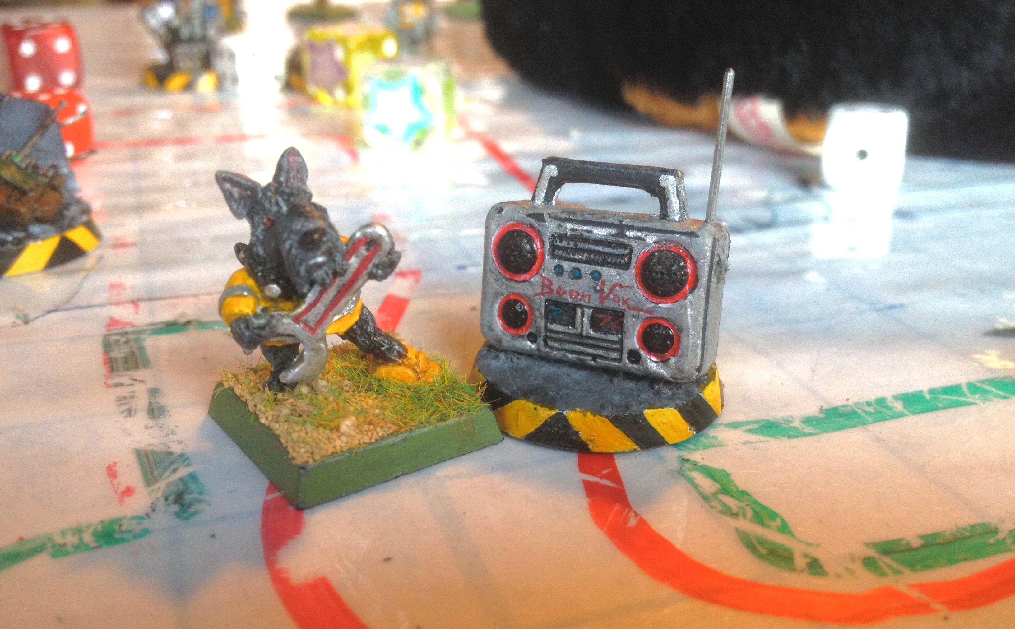 Animals, Anthropomorphic Animals, Boom Box, Characters, Cute, Dog, Kids, Original Characters, Sculpting, Young Gamers