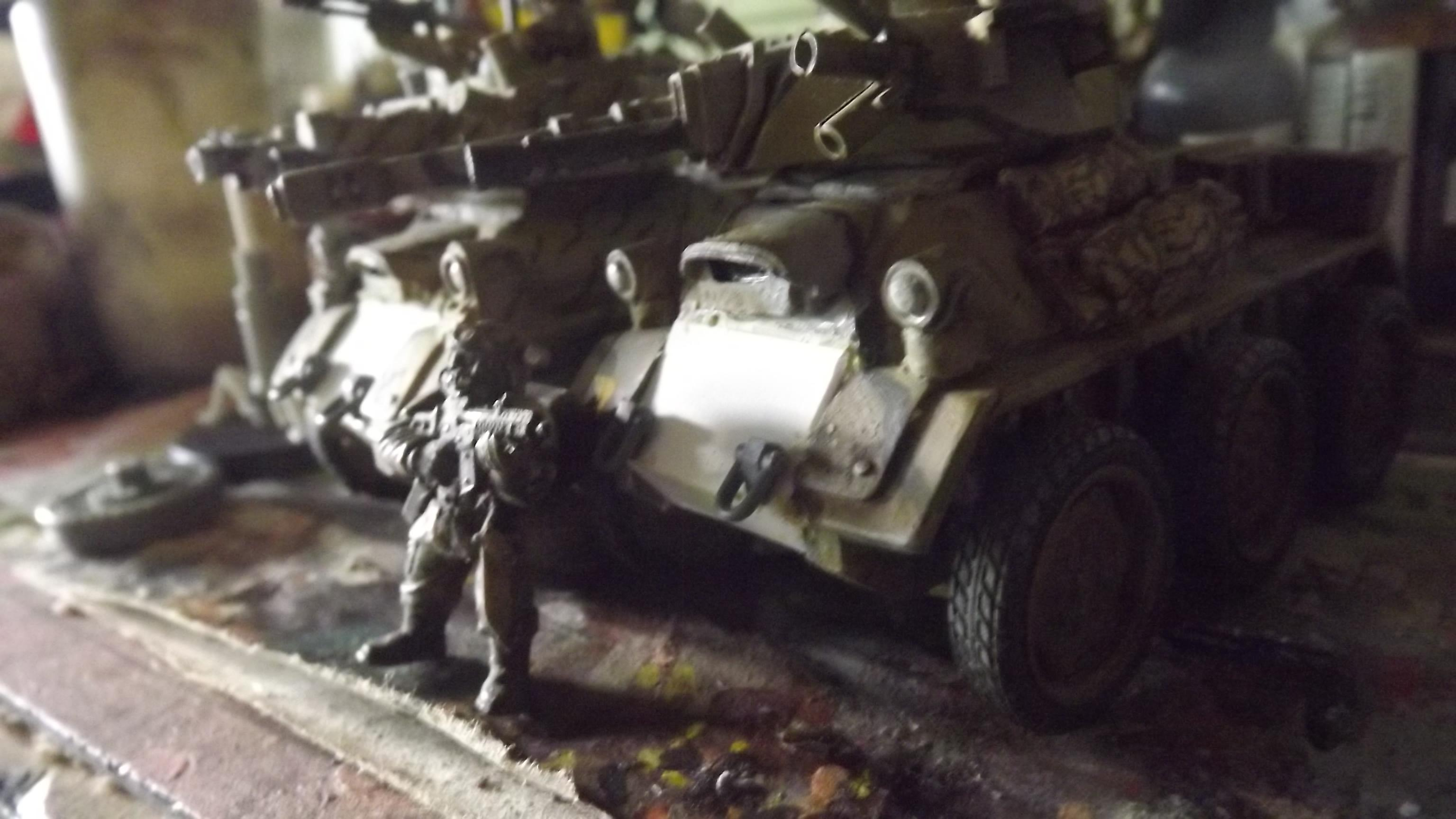 Armoured Car, Converion, Degu, Fast Attack, Light Vehicle, Proxy, Ramshackle Games, Recon, Scout Car, Sentinel, Work In Progress