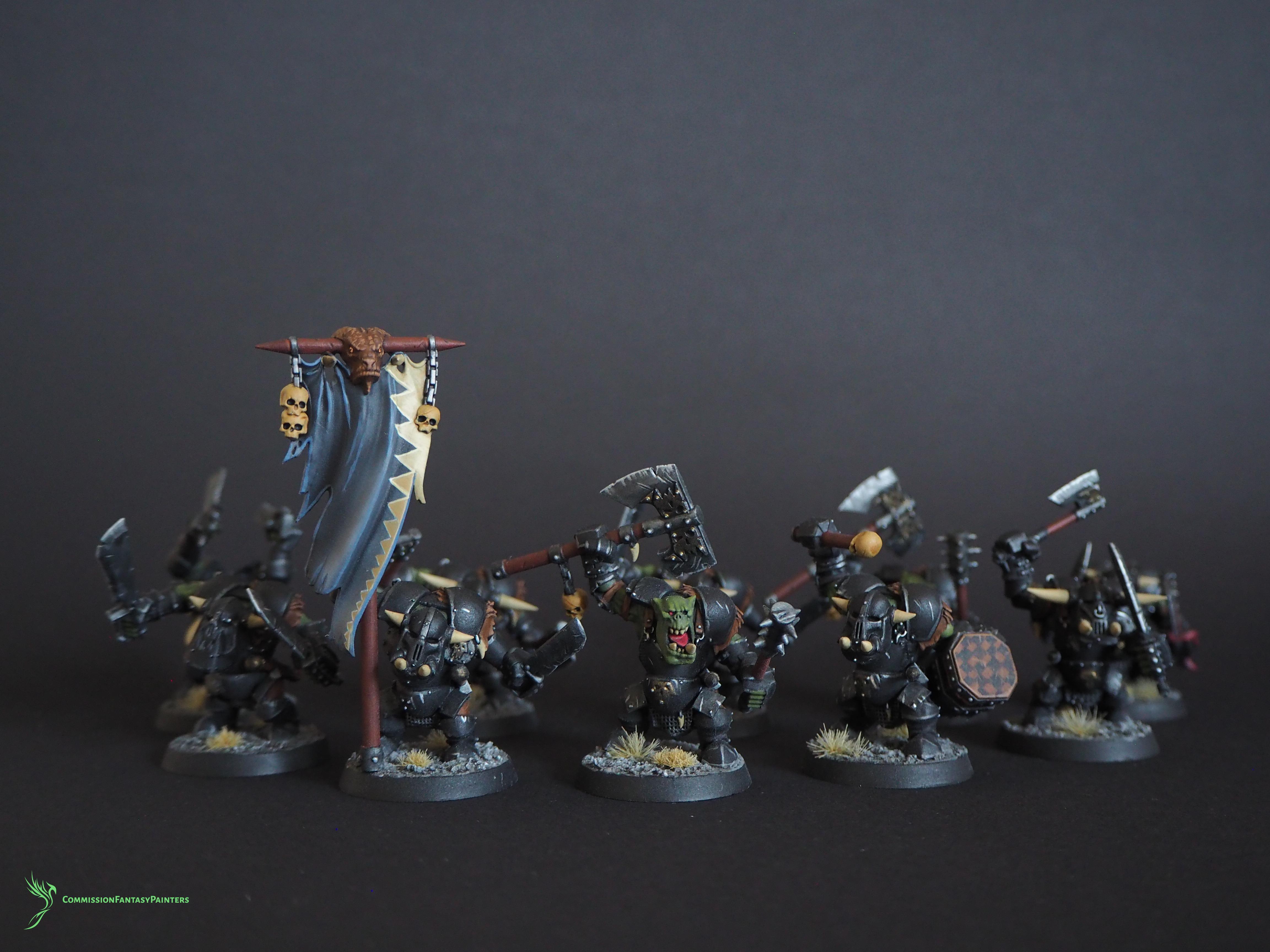 Commissiofantasypainters, Destruction, Ironjawz, Orcs And Goblins, Warhammer Age Of Sigmar, Warhammer Fantasy