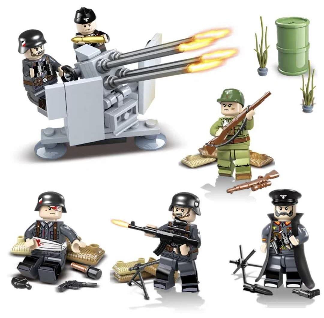 Astra Militarum, Commissar, Imperial Guard, Lego, Sabre Defence Battery
