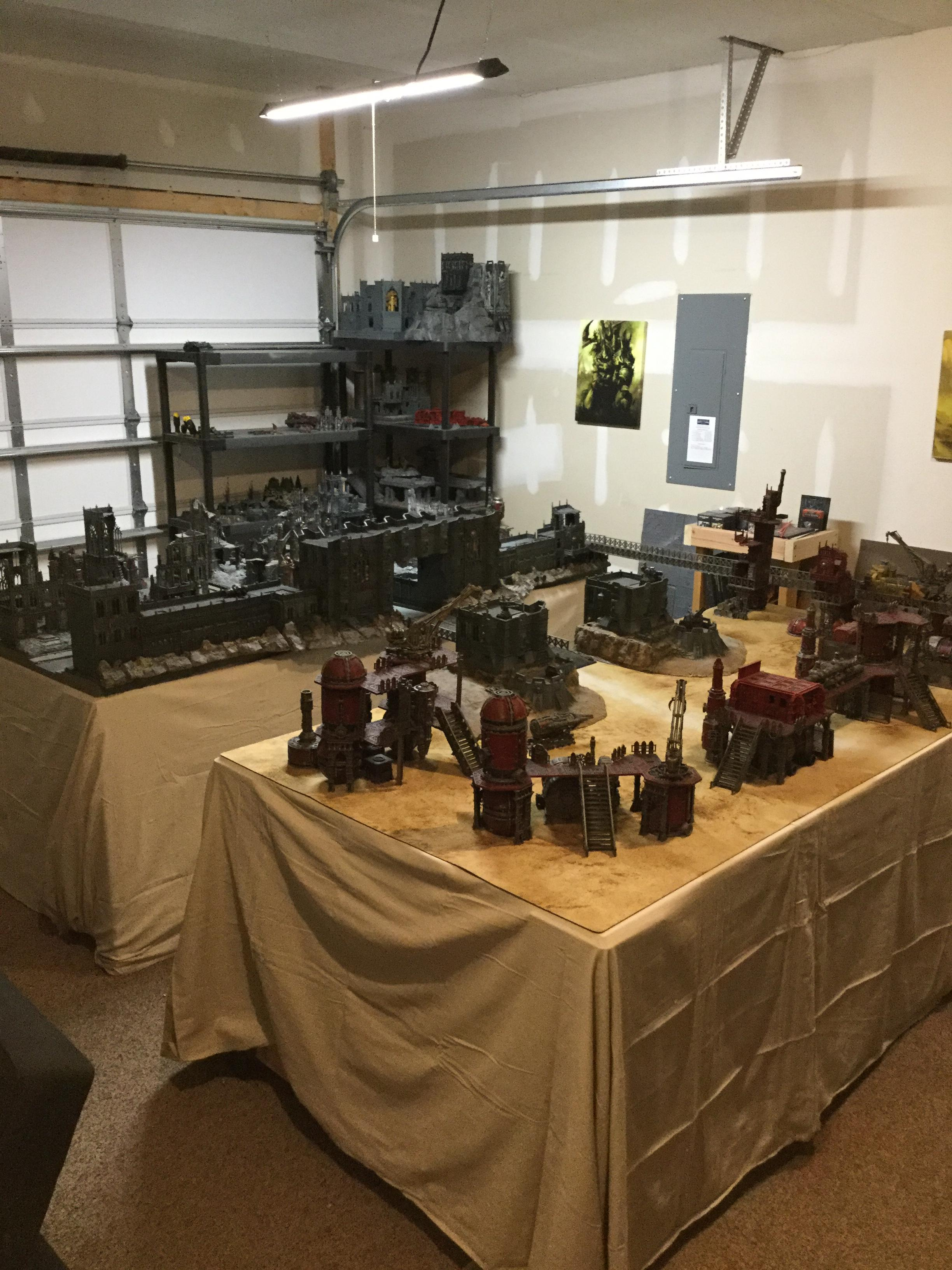 Fortress, Imperial City, Imperial Fortress, Ruins, Sector Imperialis, Sector Mechanicus, Terrain