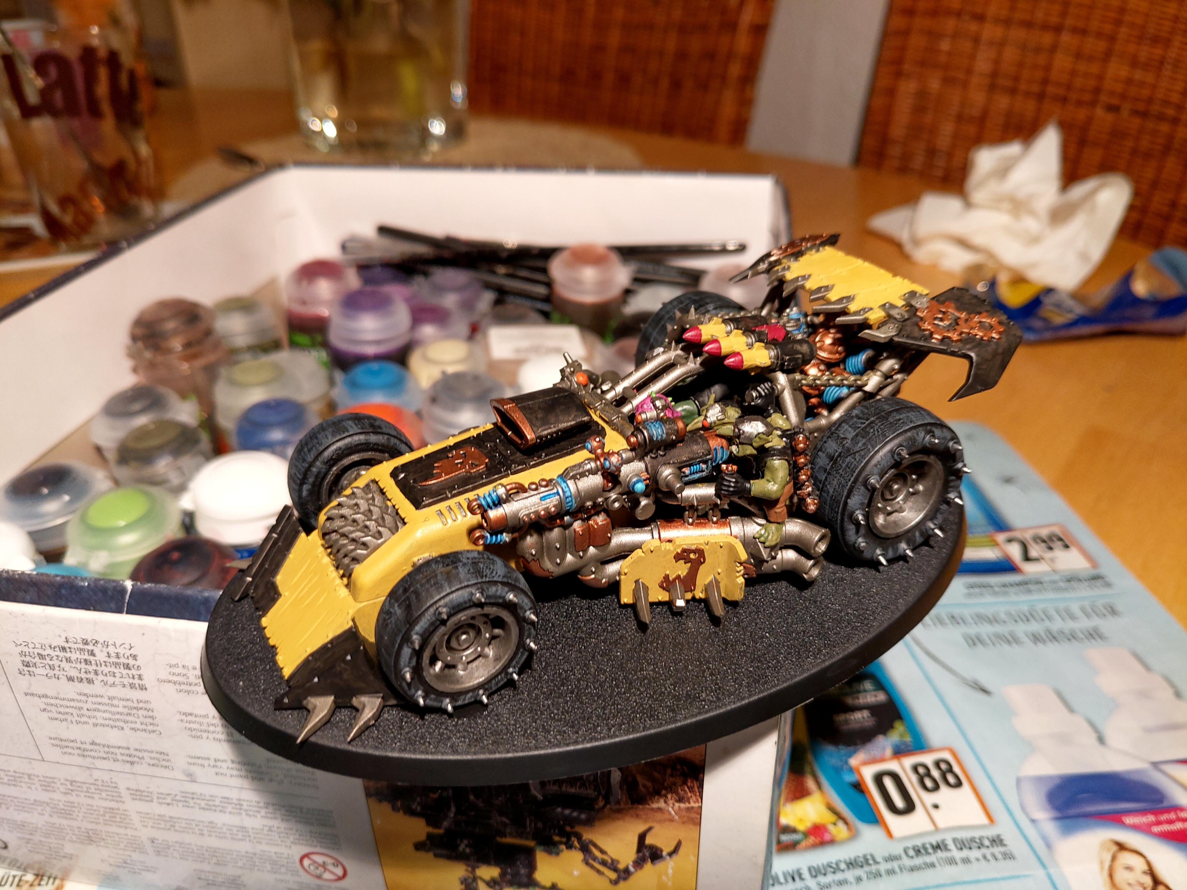 Ork Buggy, left side