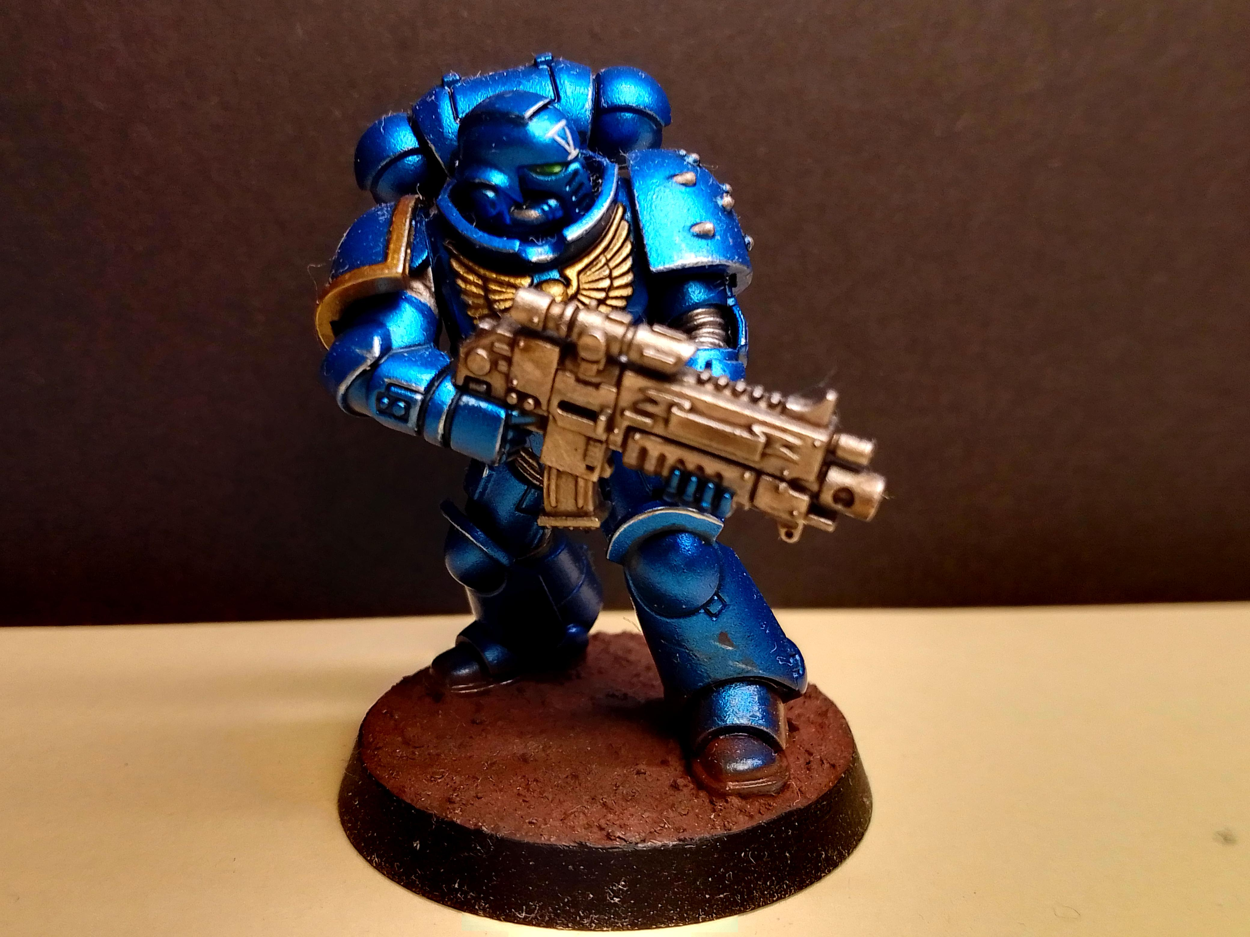 Intercessor, Primaris, Ultramarines