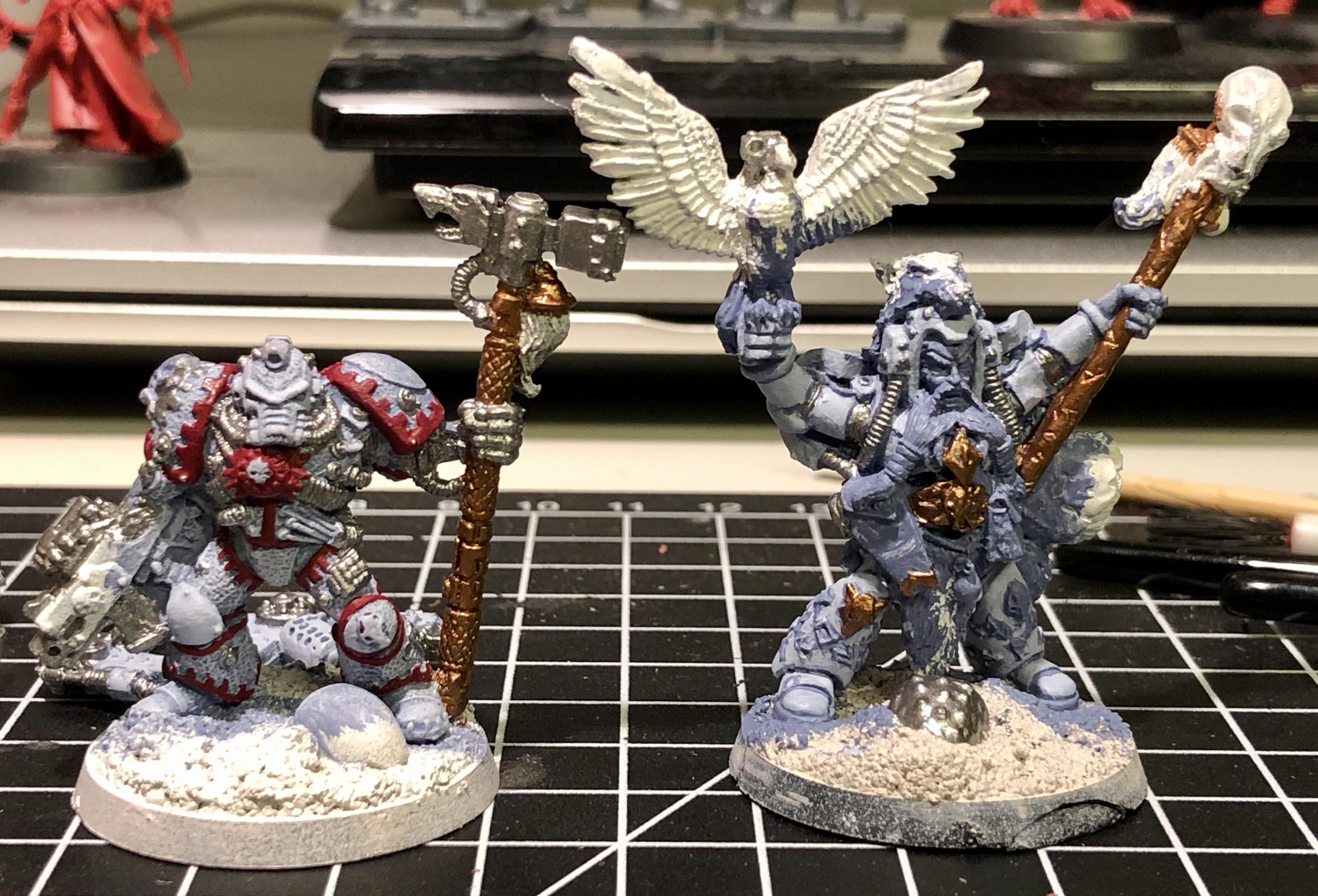 2nd Edition, Iron Priest, Njal Stormcaller, Space Marines