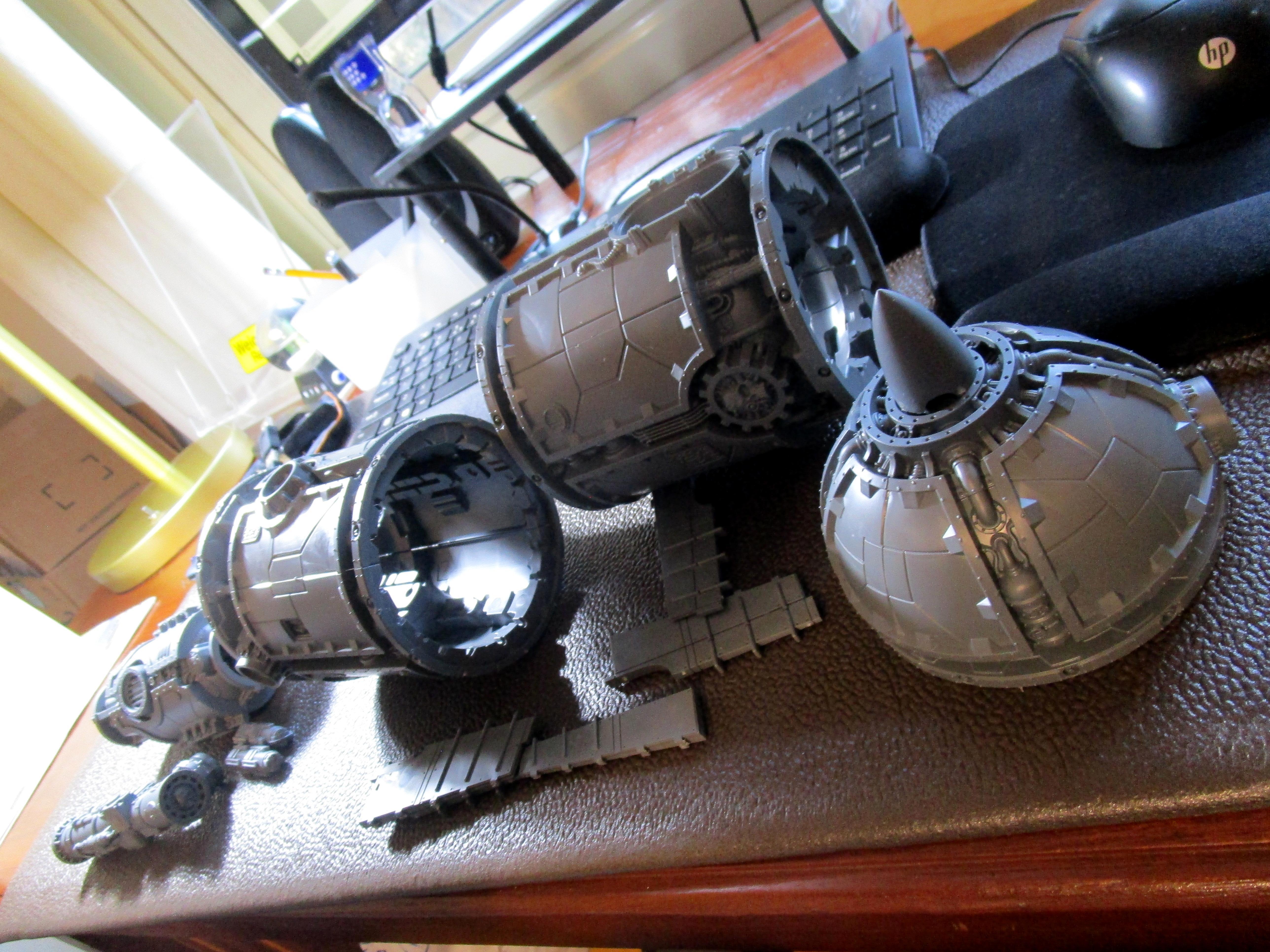 Marauder Bomber, Scratch Build, War Rocket, Work In Progress, Zone Mortalis