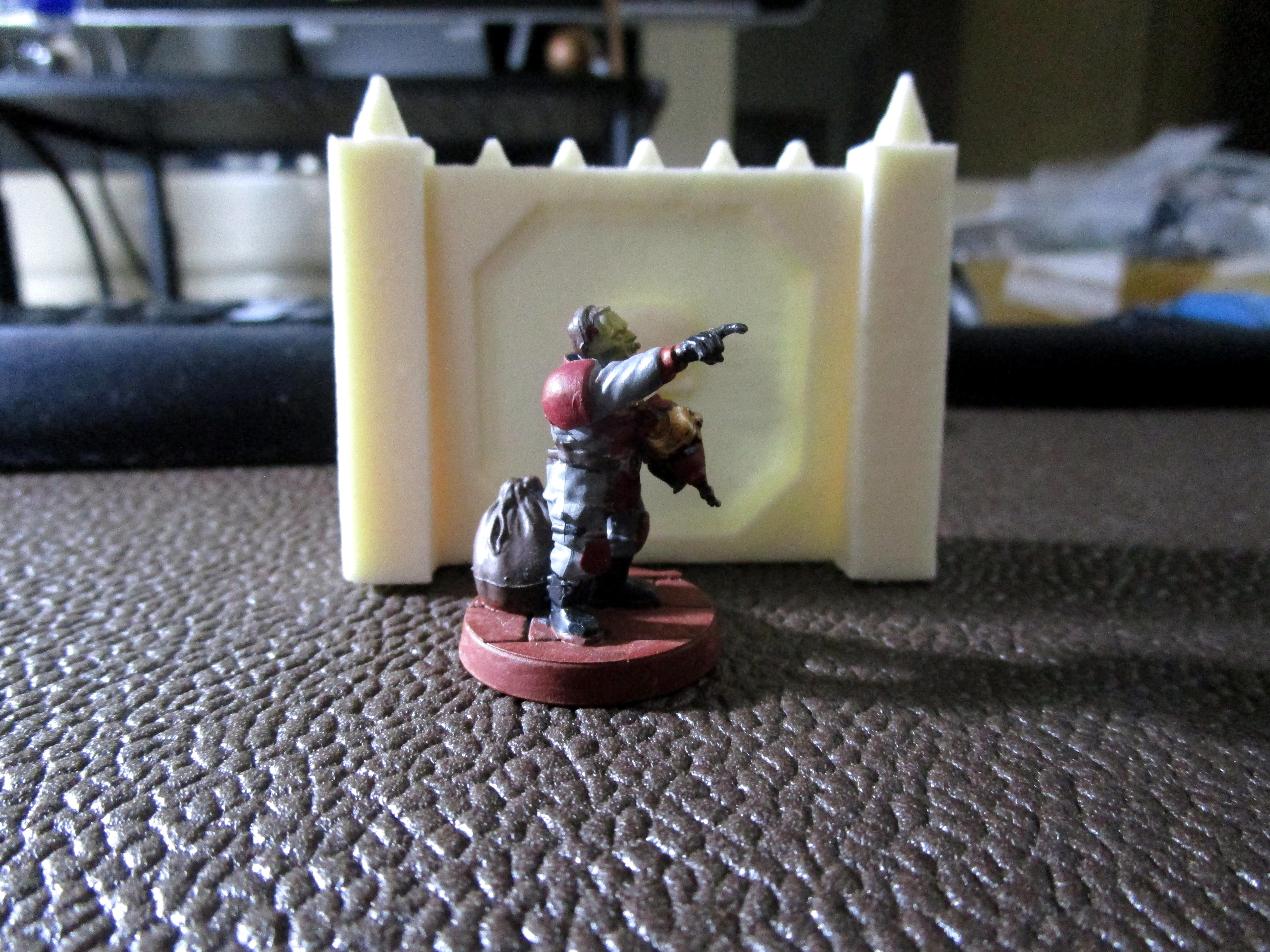 Fortress, Resin, Security, Walls, Watcorp Designs