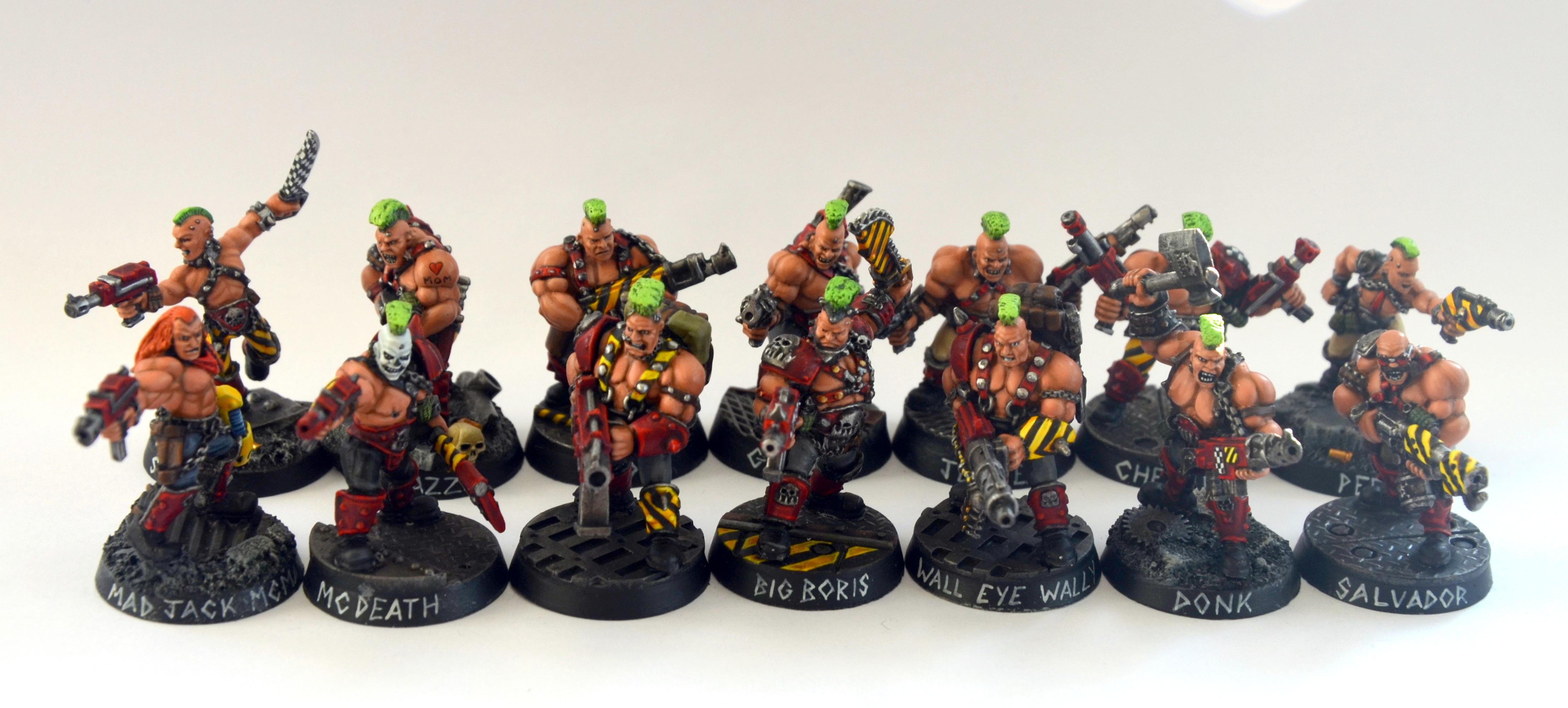 Goliaths, Necromunda