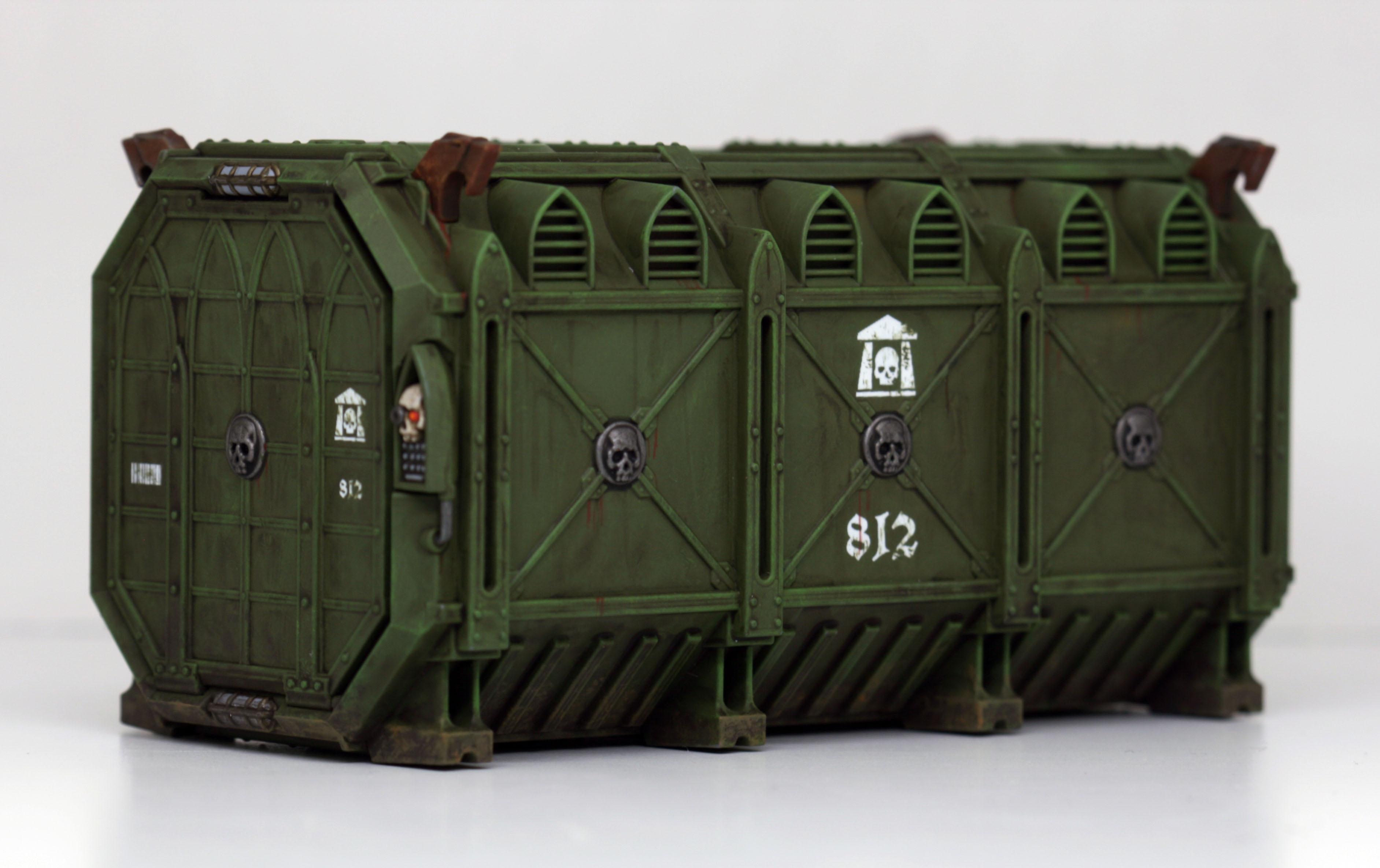Cadians, Container, Sector Munitorum